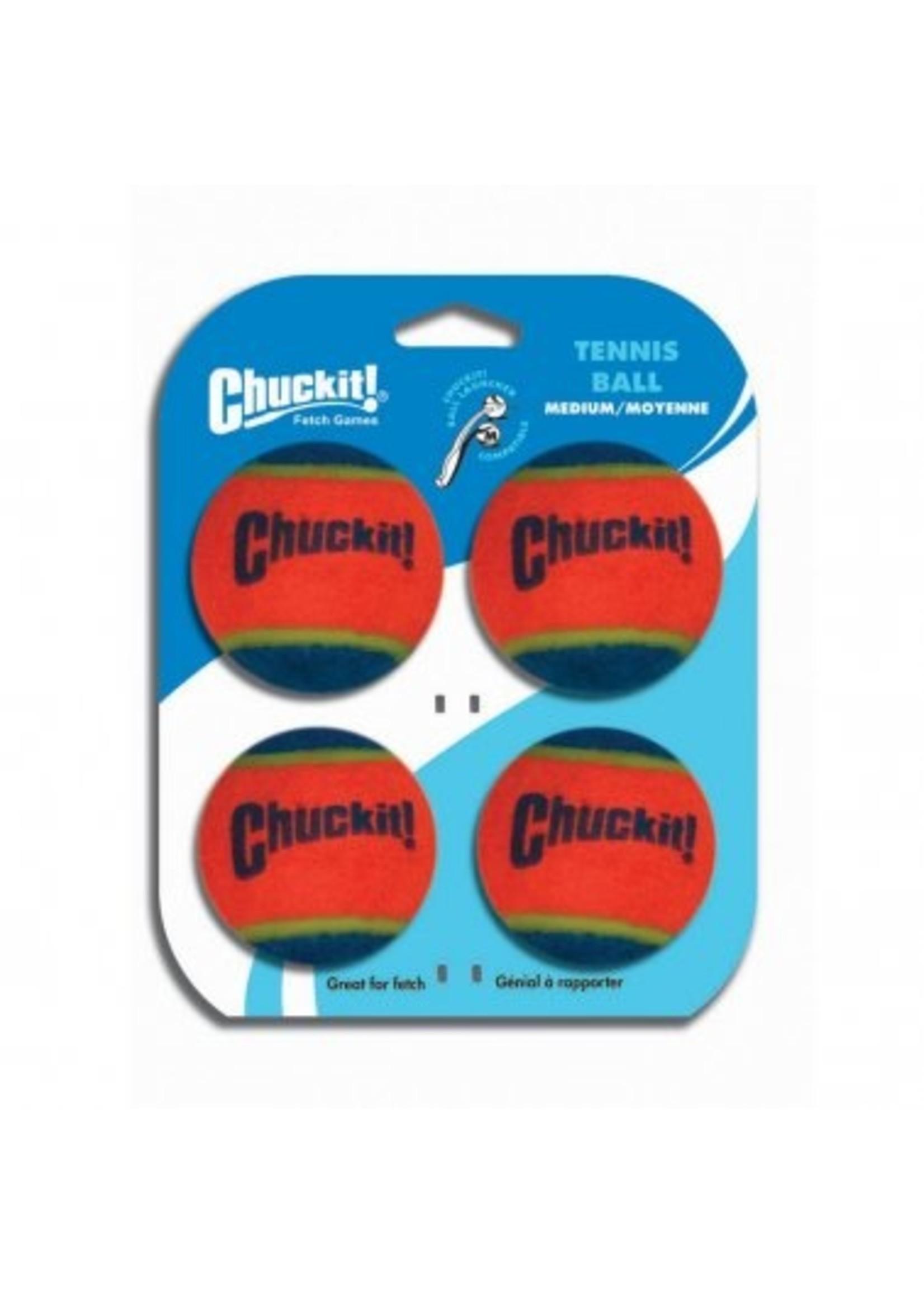 Chuckit!® Chuckit! Tennis Ball 4pk Md