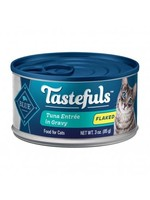 Blue Buffalo Blue Buffalo Tastefuls Tuna Gravy Cat Food 3oz, 12 per case