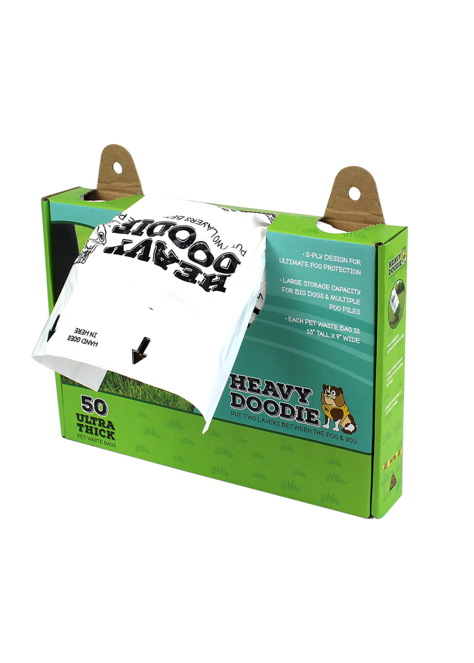Alcott Heavy Doodie 2 Ply Waste Bag 50 count