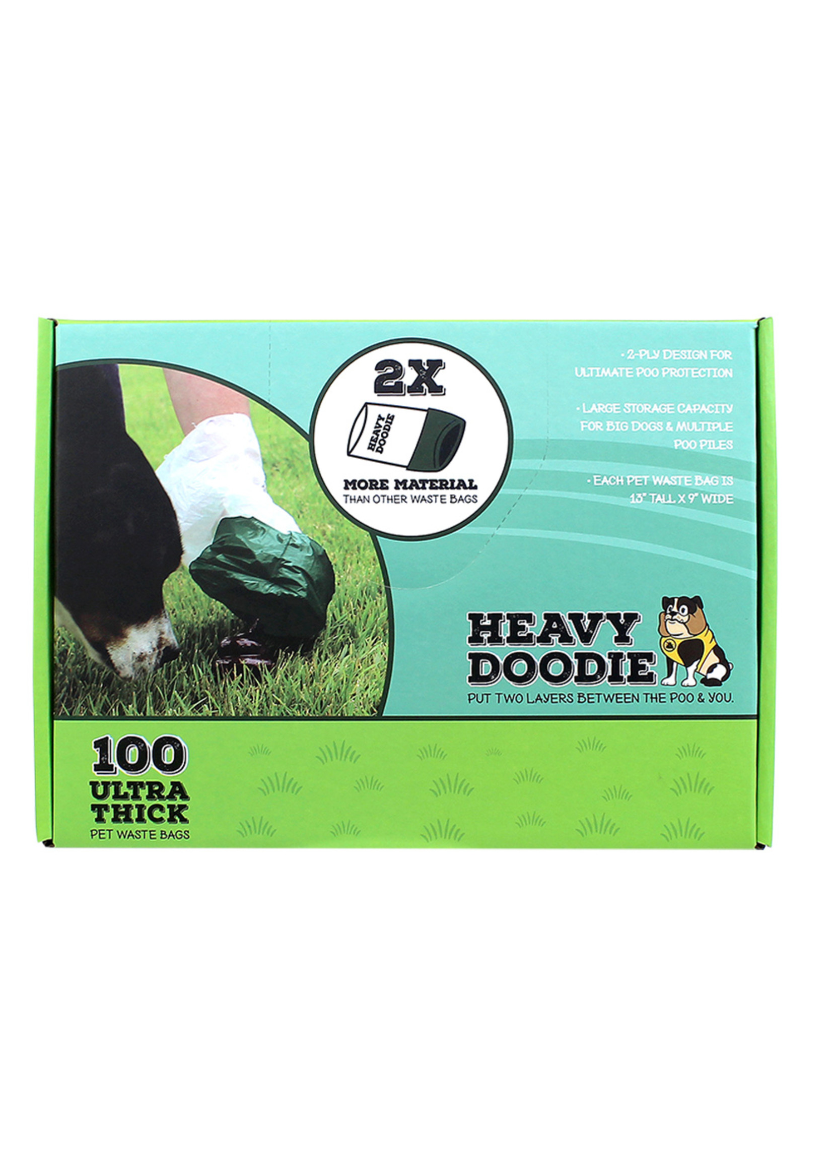 Alcott Heavy Doodie 2 Ply Waste Bag 100 count