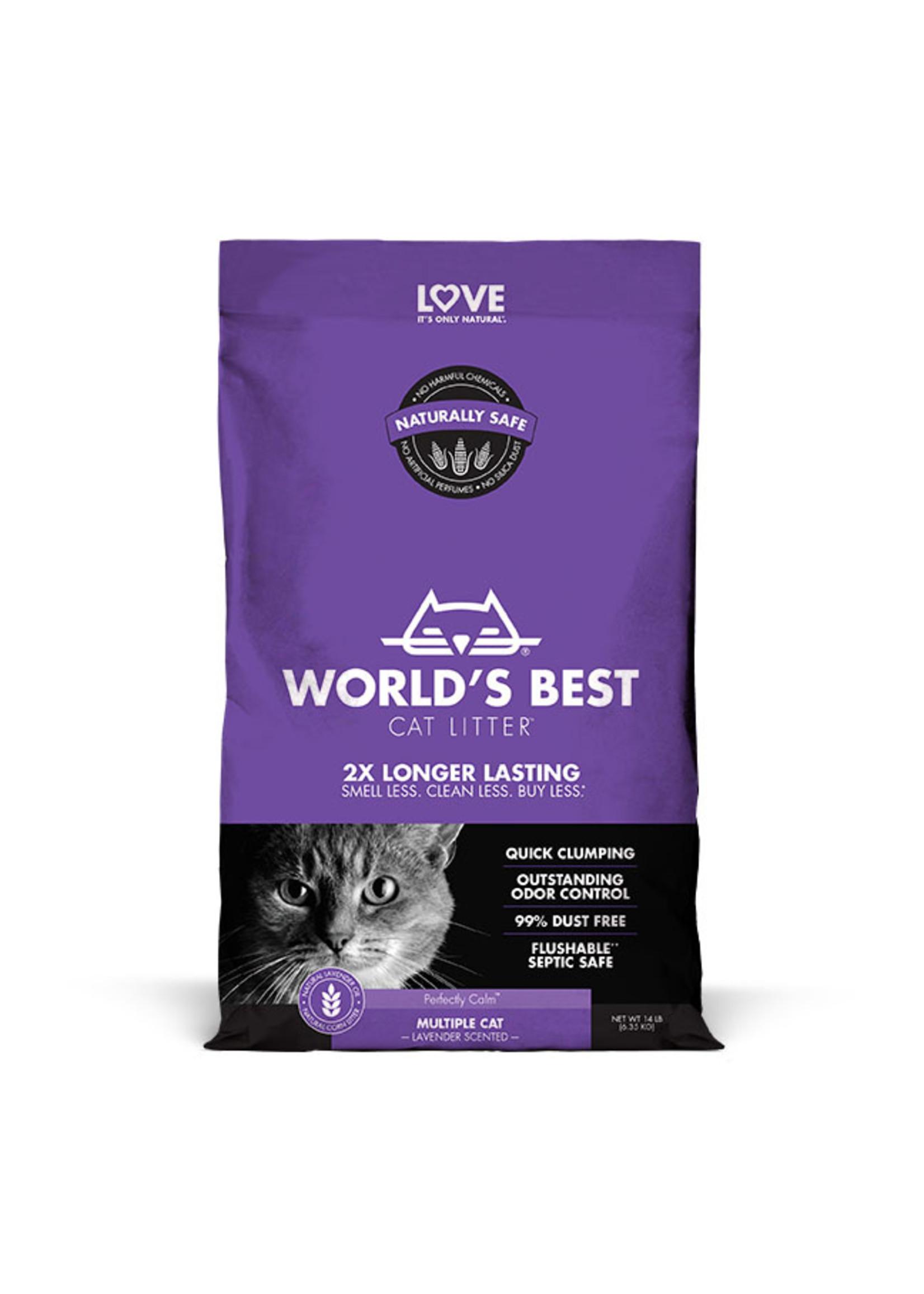 World's Best Cat Litter World's Best Cat Litter Multiple Cat Lavender Scented