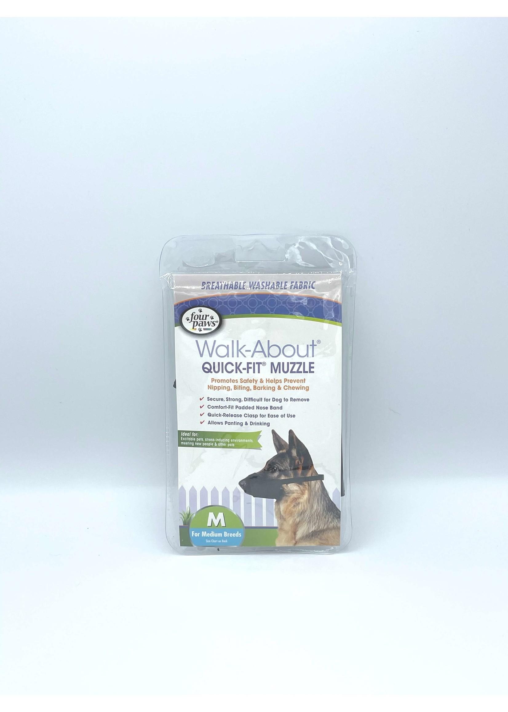 Walk-About Quick-Fit Muzzle - Medium Breeds