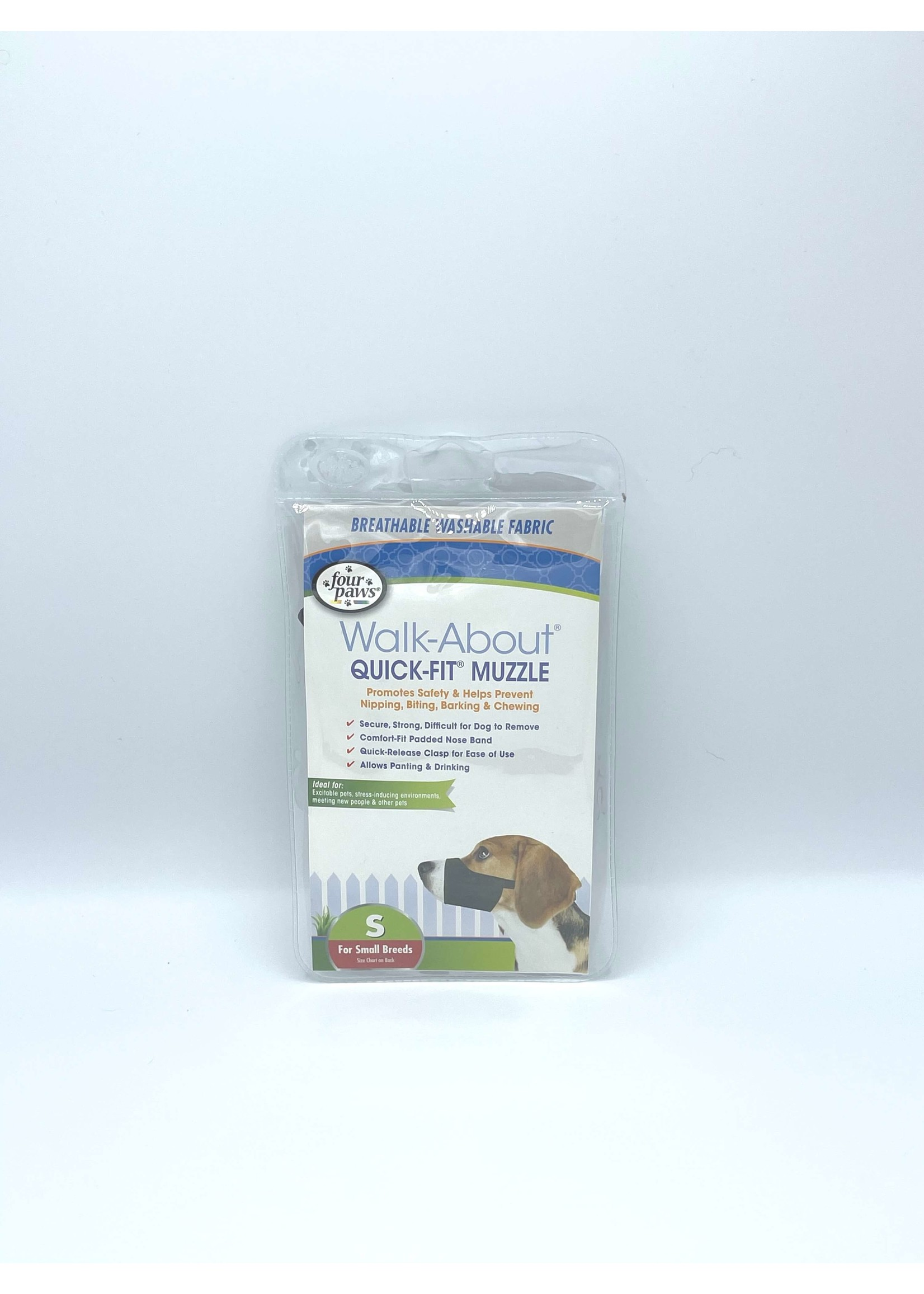 Four Paws Walk-About Quick-Fit Muzzle Small