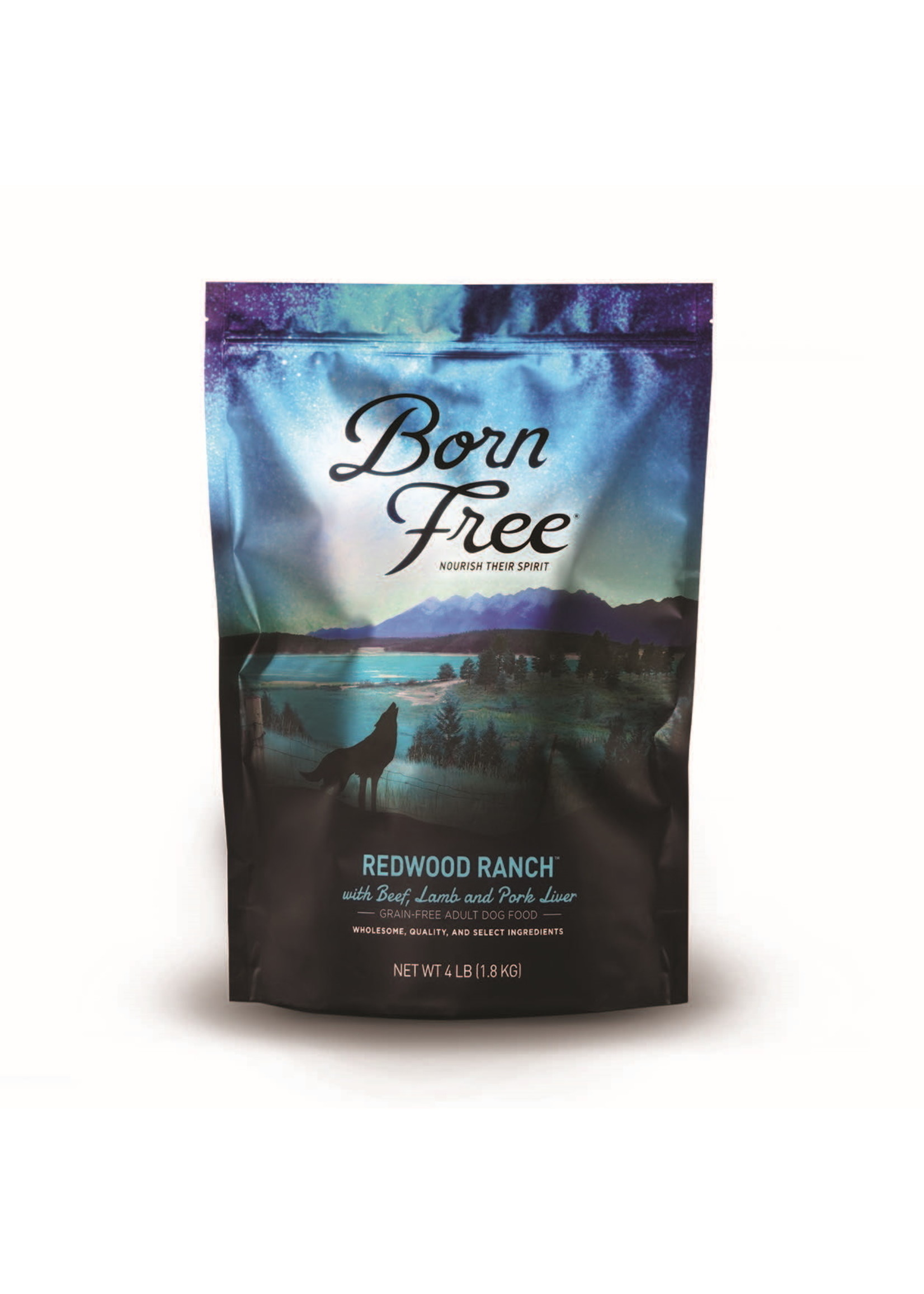 Born Free Born Free Redwood Ranch Dog Food 4 lb