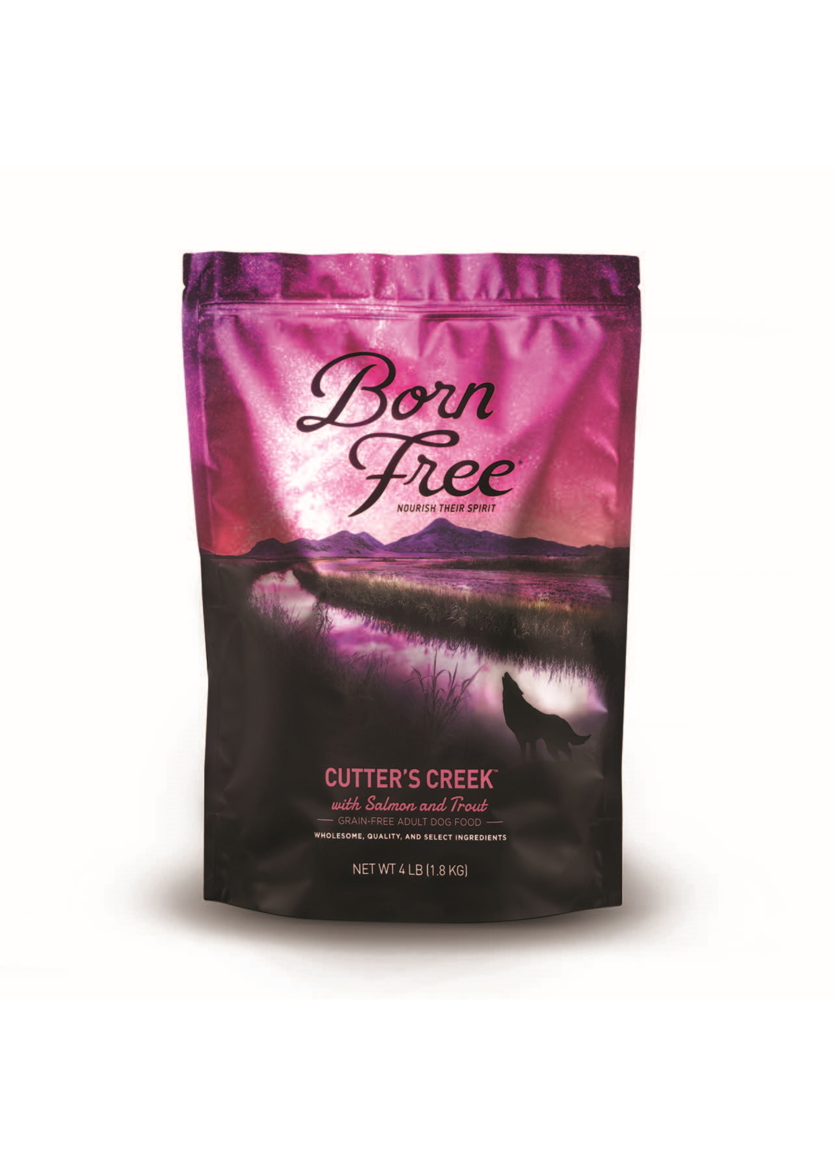 Born Free Born Free Cutters Creek Dog Food 4 lb