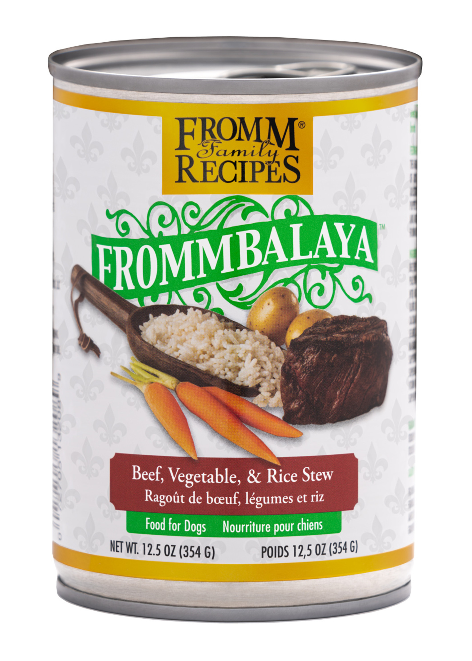 Fromm Frommbalaya Wet Dog Food, 12.5oz Can