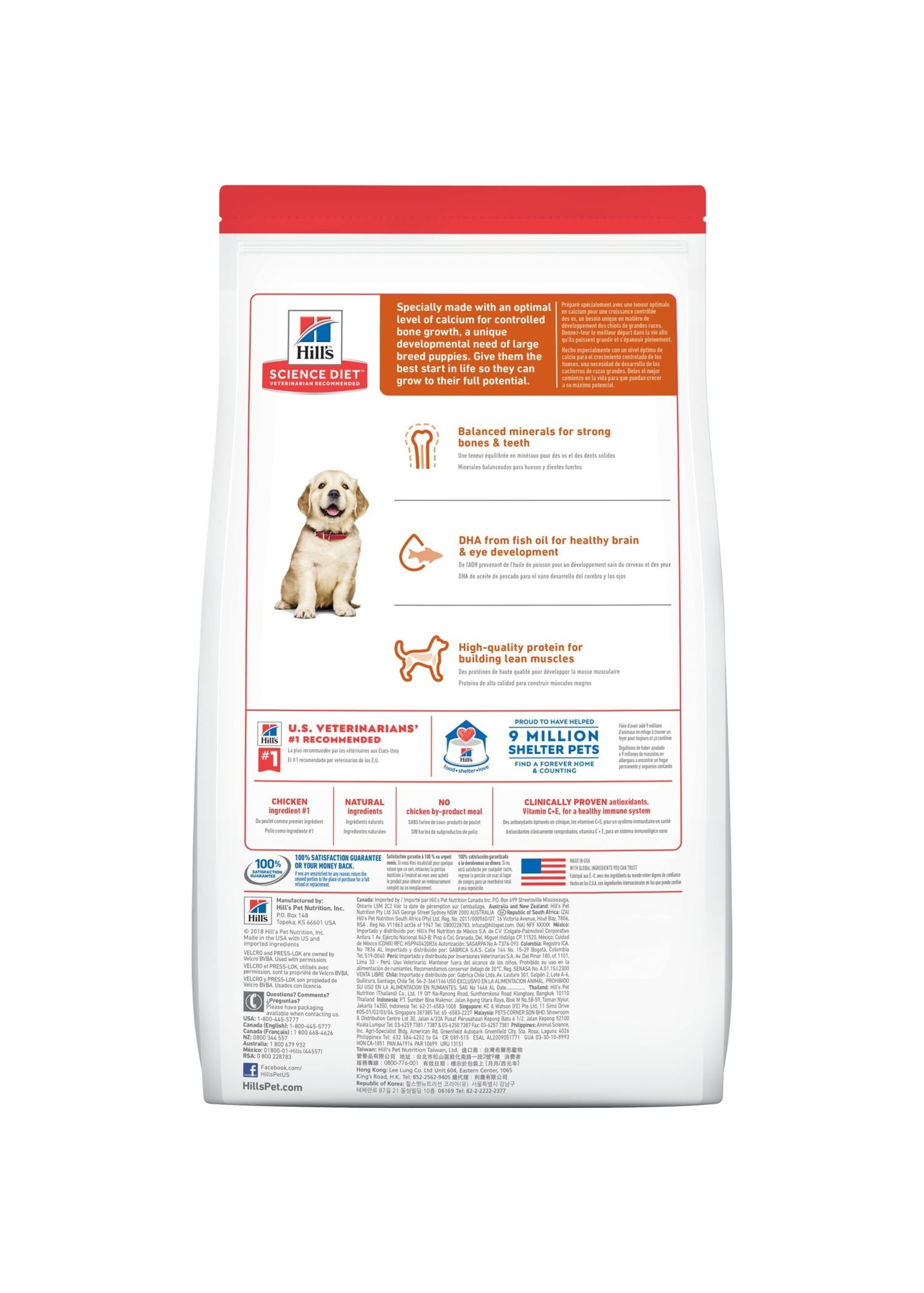 Hill's Science Diet Hill's Science Diet Large Breed Puppy Dog Food 2 lb