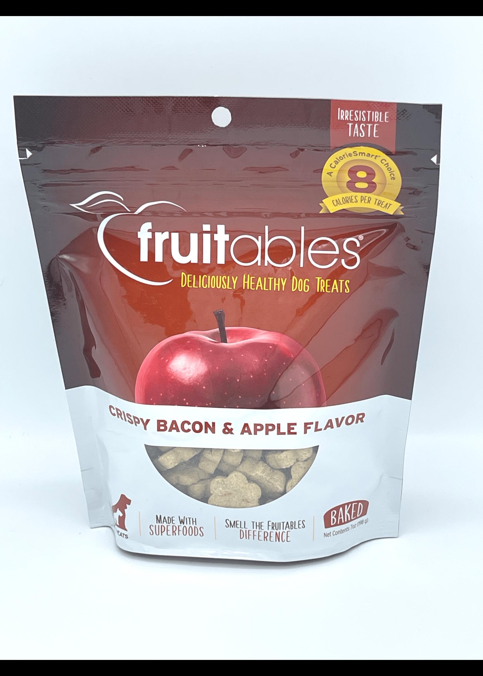 Fruitables Fruitables Crispy Bacon & Apple Baked Dog Treat