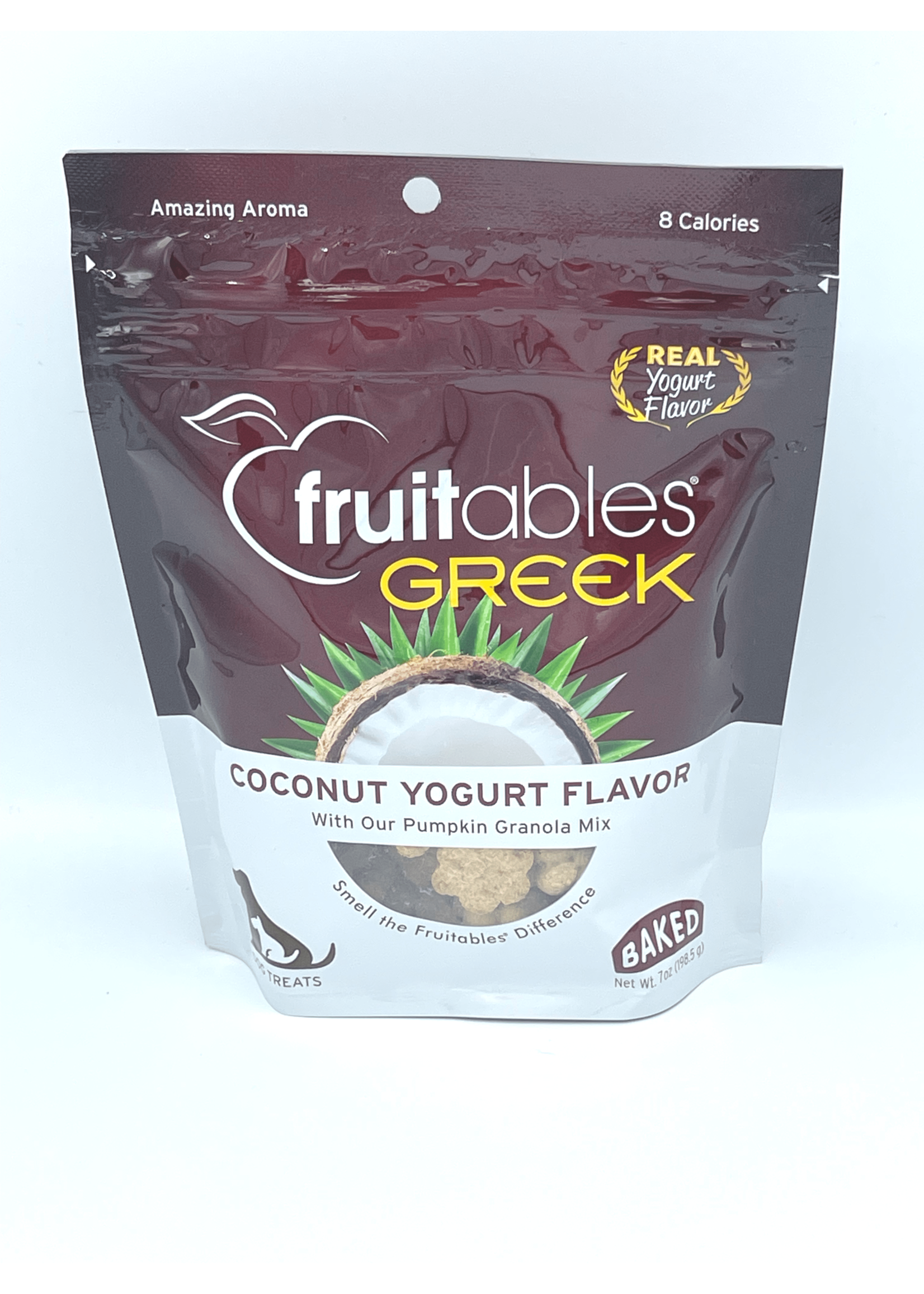 Fruitables Fruitables Greek Coconut Yogurt Baked Dog Treat