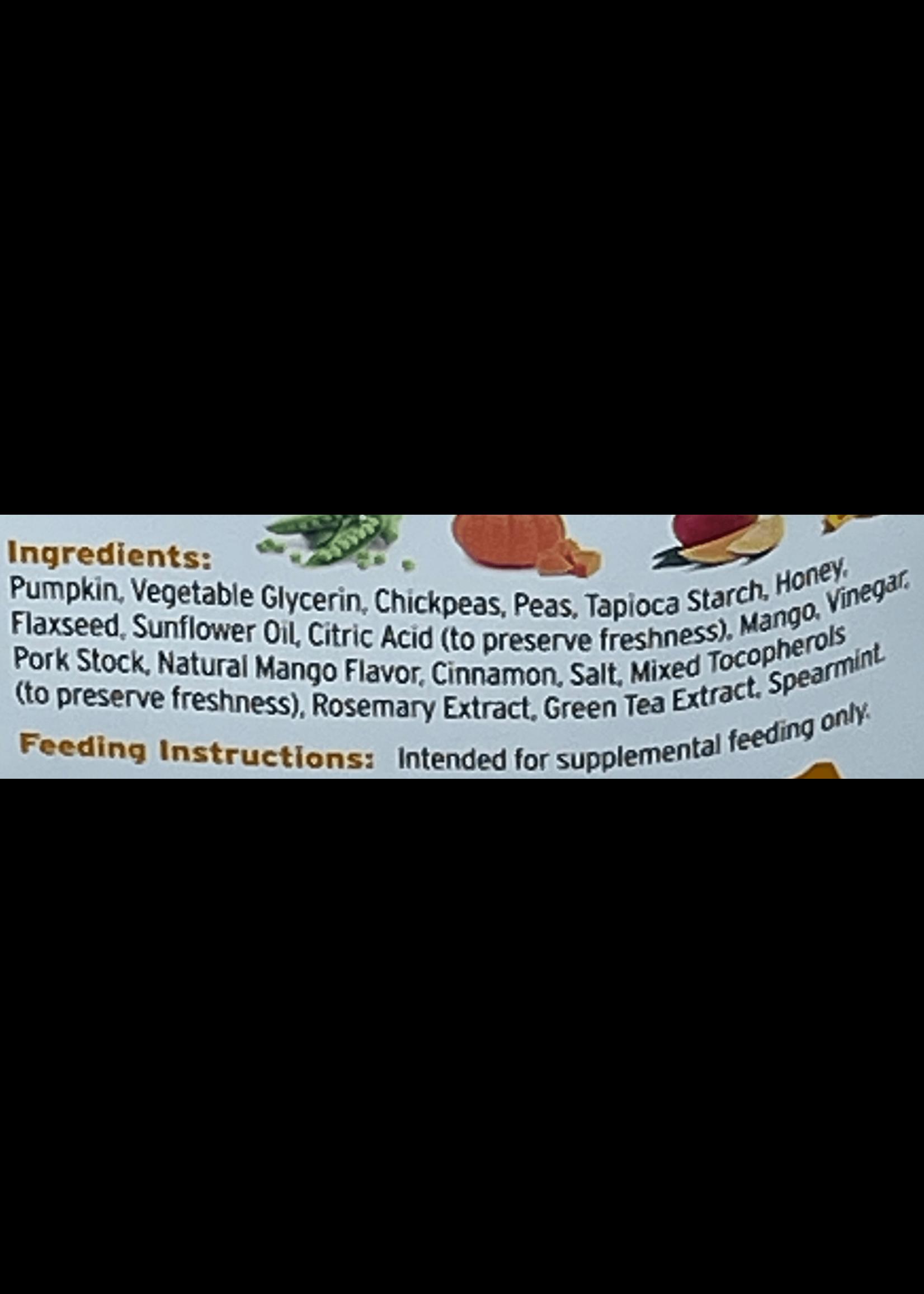 Fruitables Fruitables Skinny Minis Pumpkin & Mango  Soft Dog Treat
