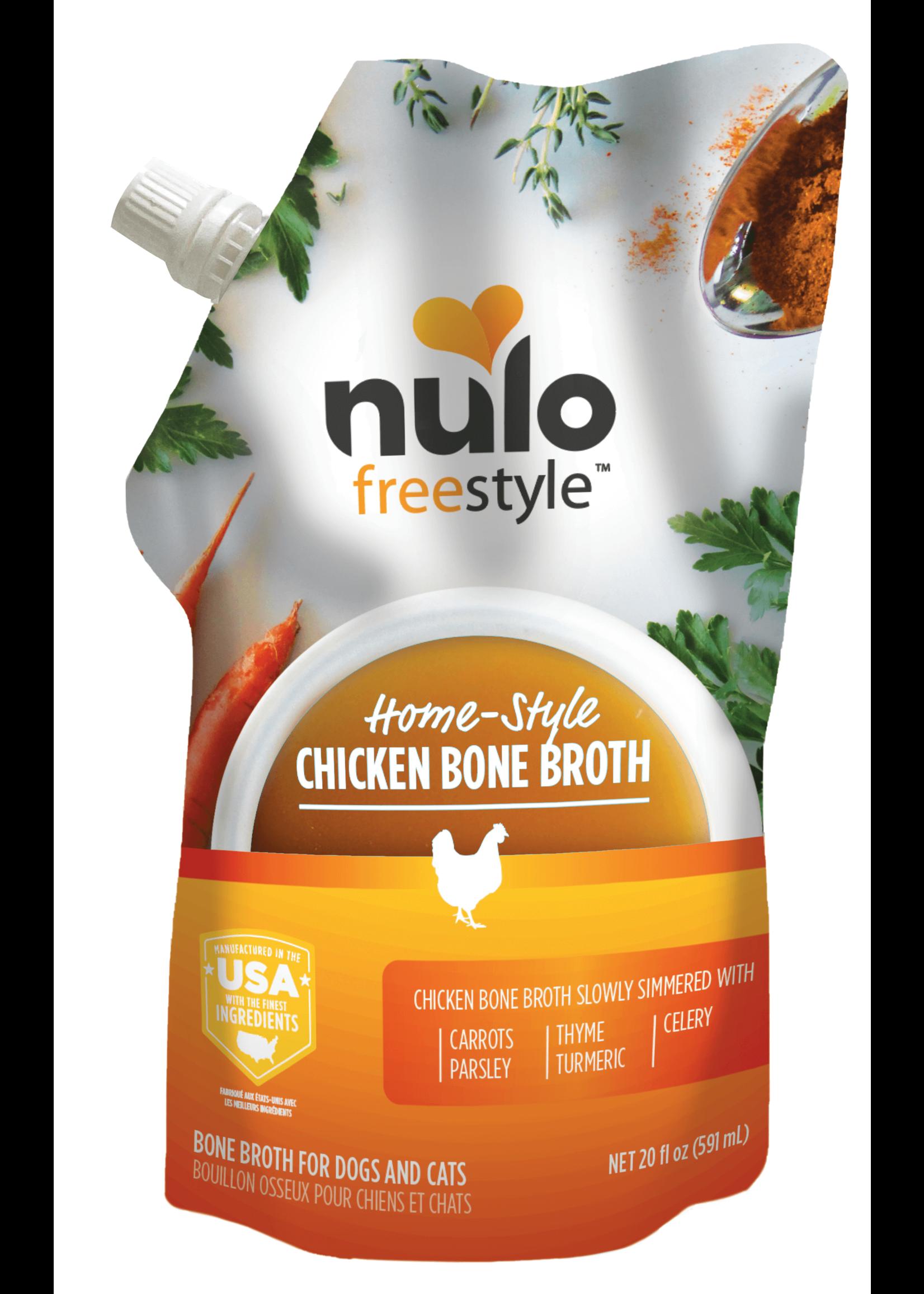 Nulo Nulo Freestyle Chicken Bone Broth, 20oz