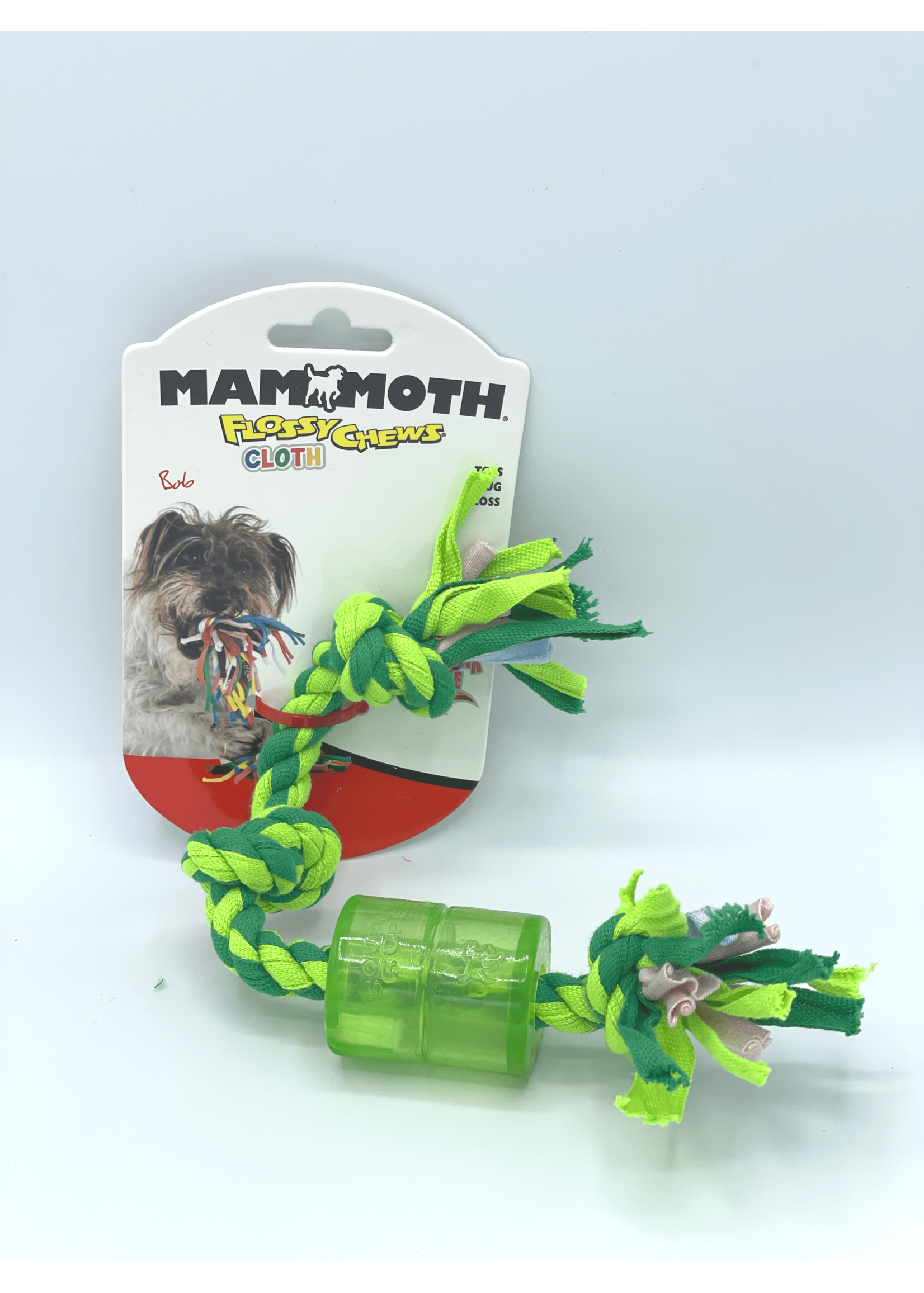 Mammoth Mammoth Cloth Squeaky Rope Pet Toy