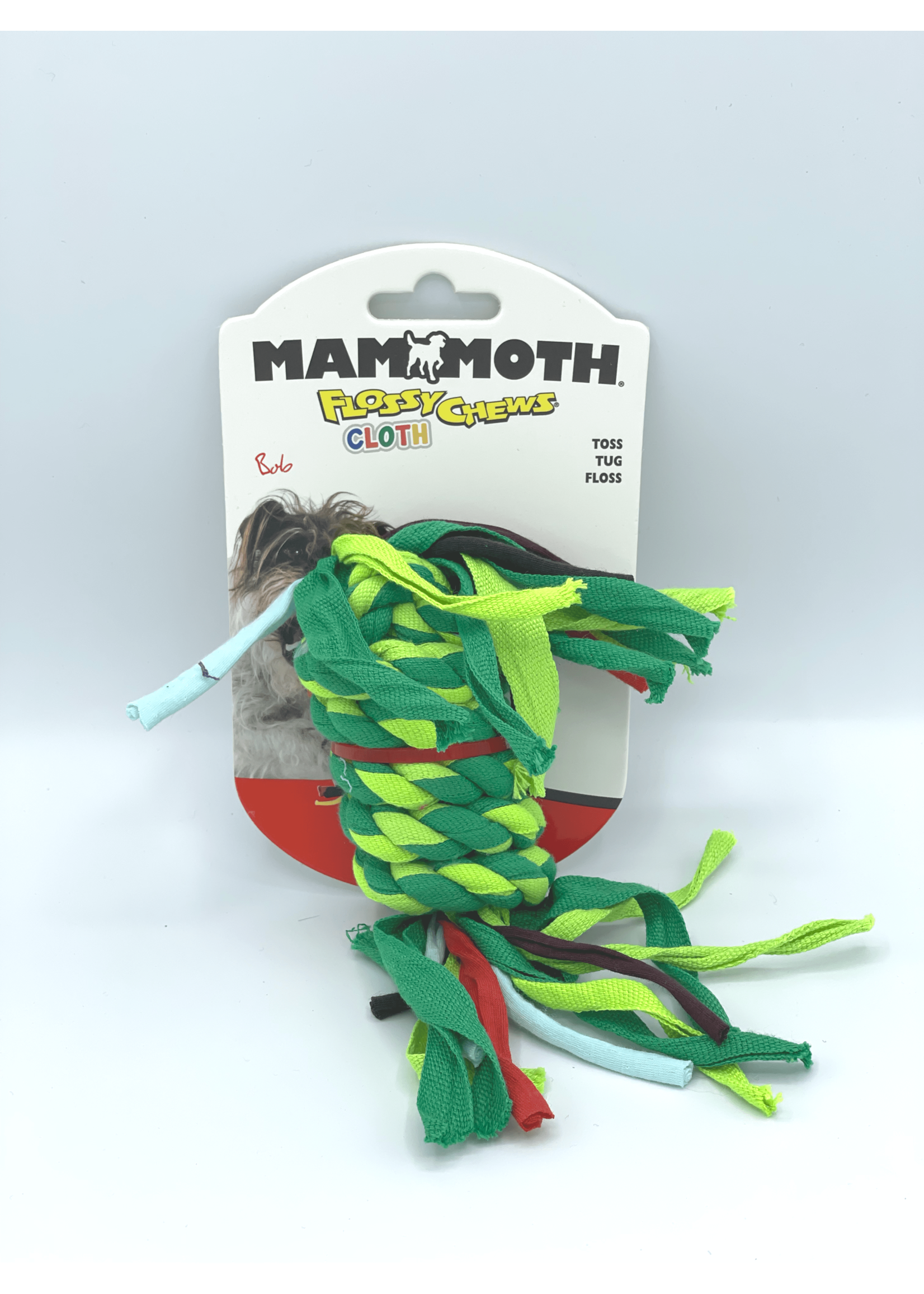 Mammoth Mammoth Flossy Chews Cloth Rope Small
