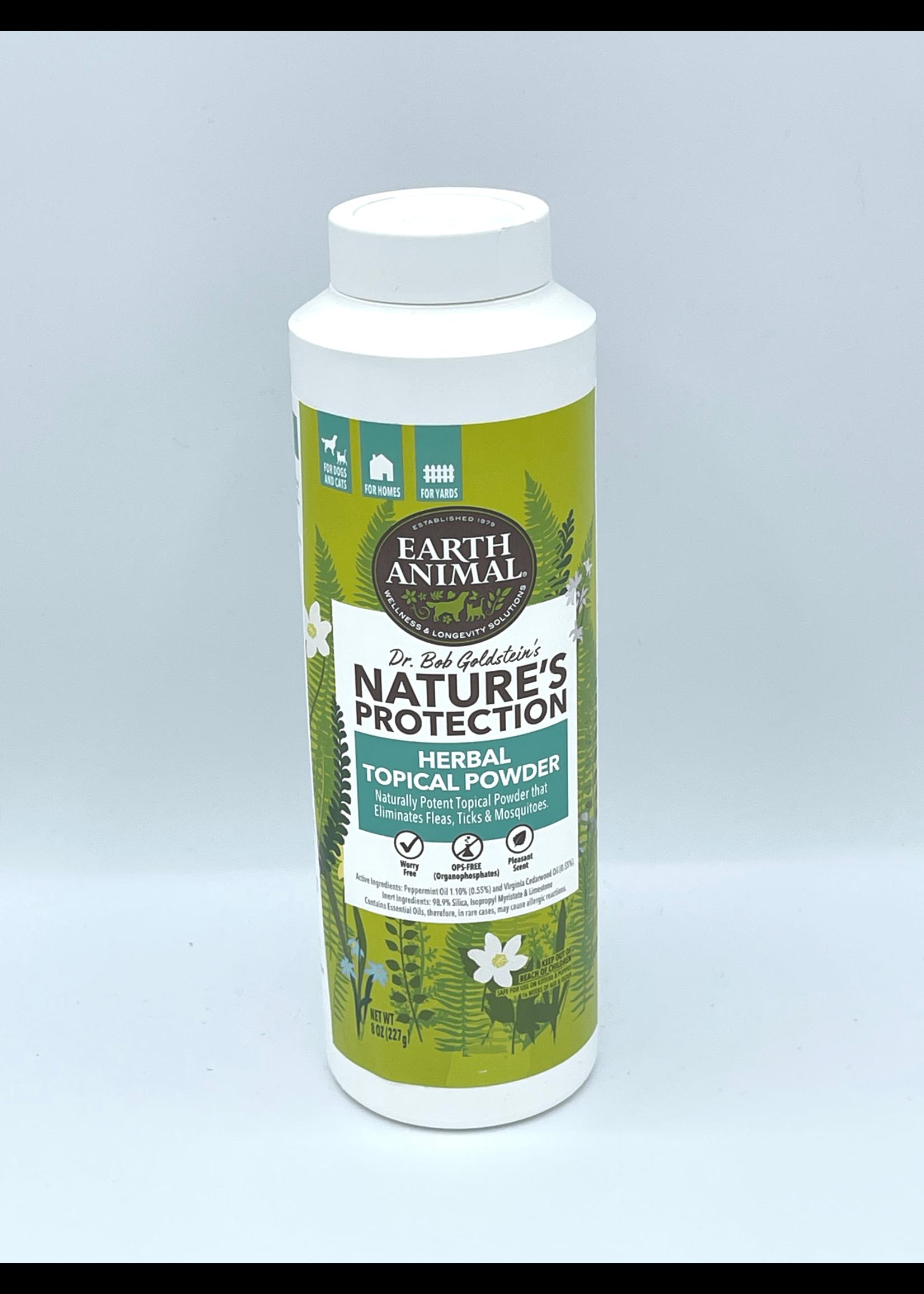 Earth Animal Earth Animal Herbal Topical Powder Flea & Tick