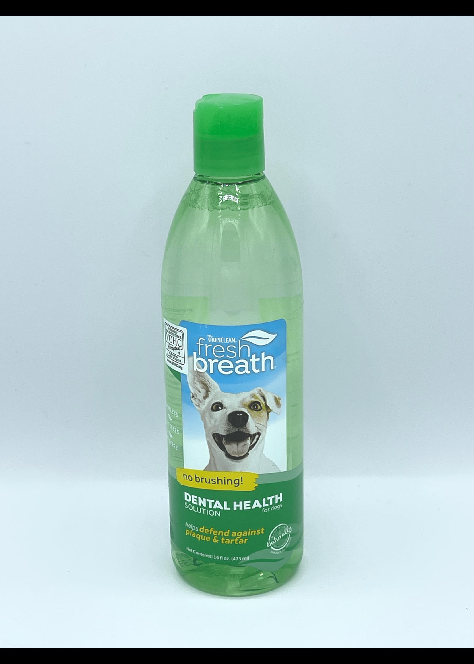 TropiClean Fresh Breath Dog Dental Health Solution