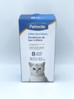 Petmate Petmate Cat Litter Pan Liners Jumbo 8 Pack
