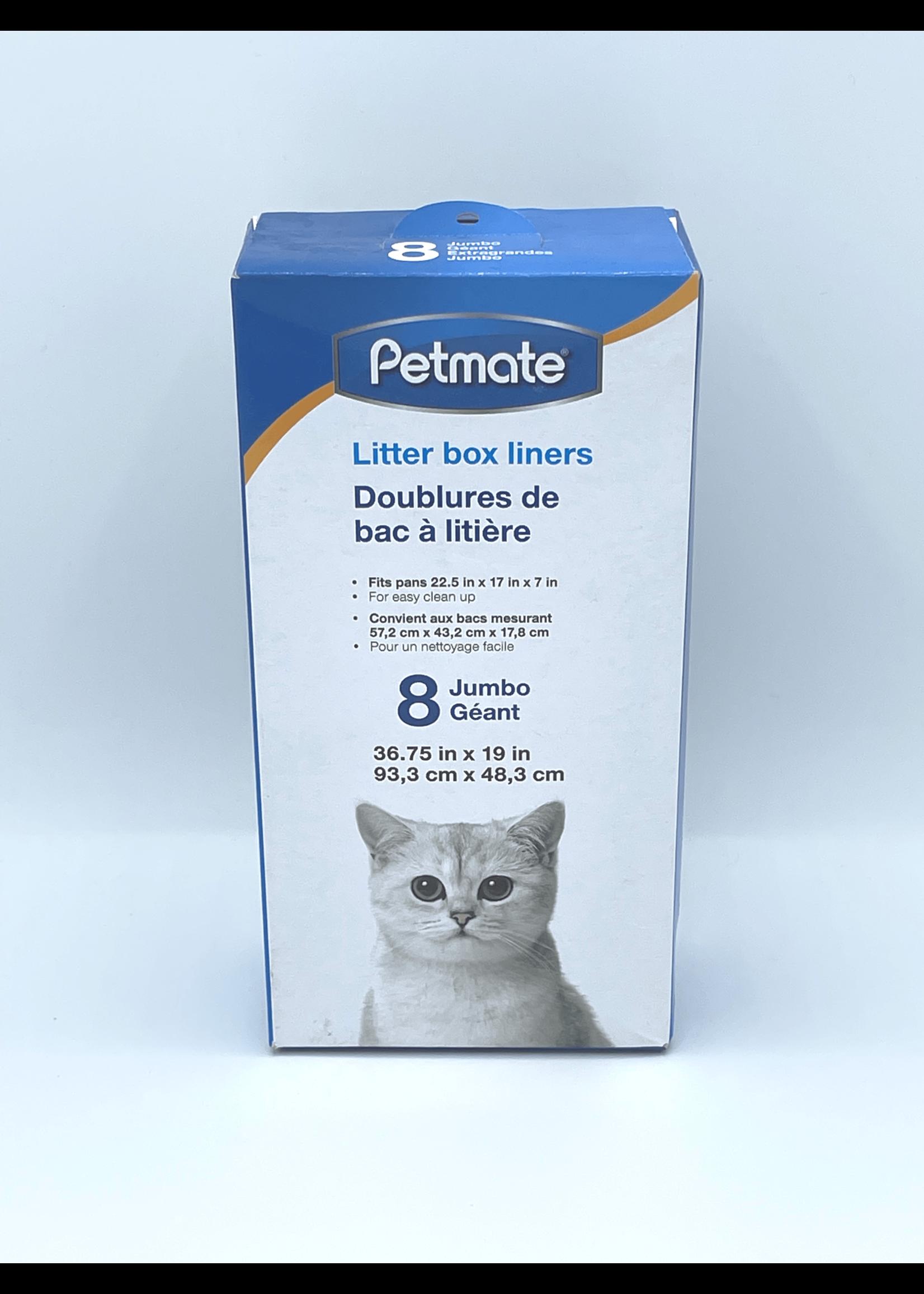 Petmate Petmate Cat Litter Pan Liners Jumbo