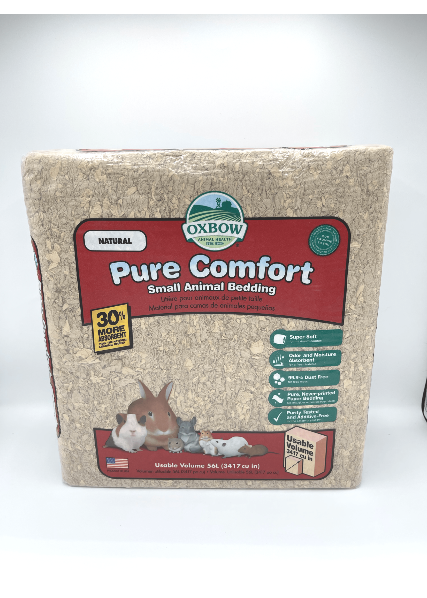 Oxbow Oxbow Pure Comfort Small Animal Bedding, 56L