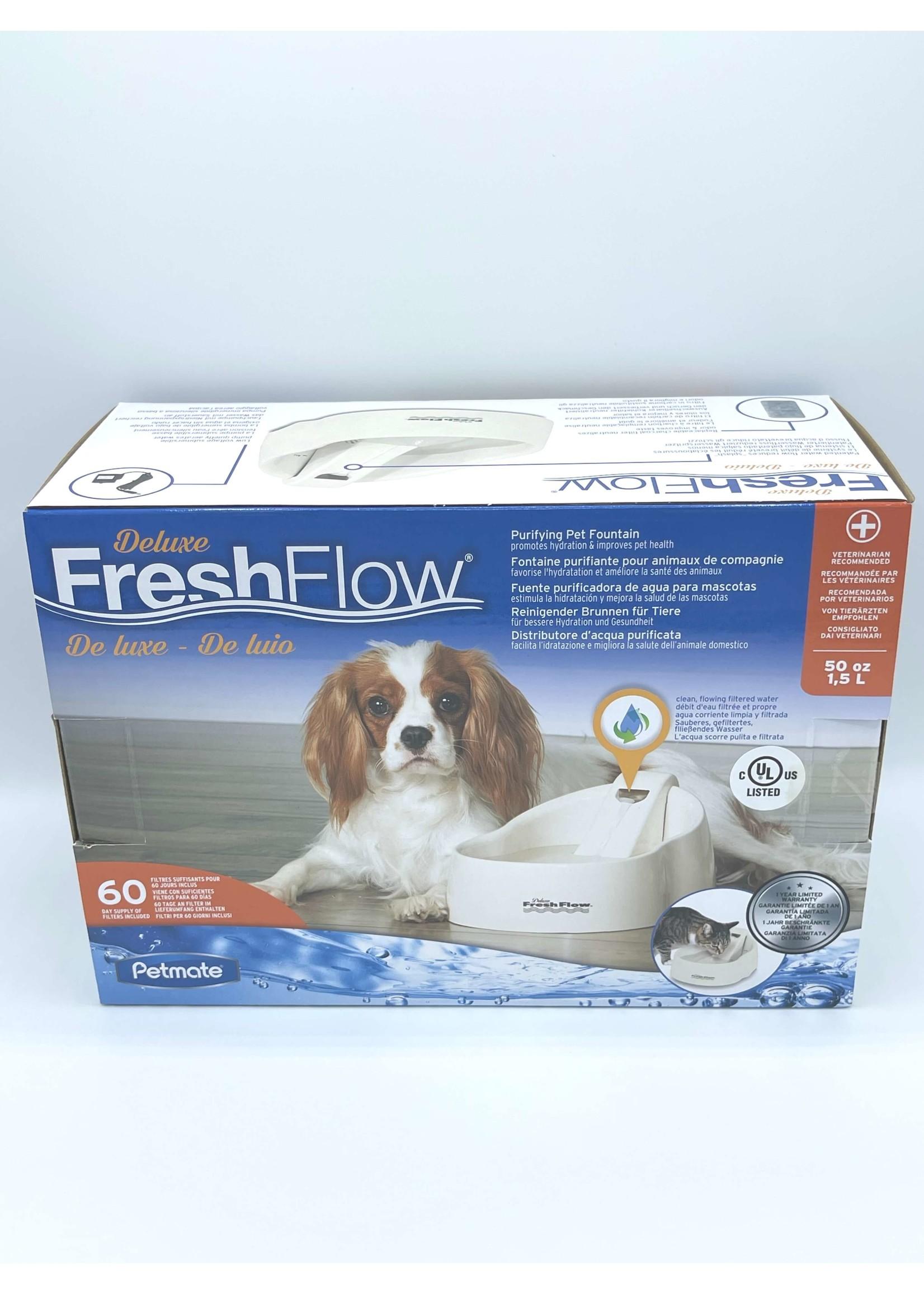 Petmate Fresh Flow Purifying Pet Fountain
