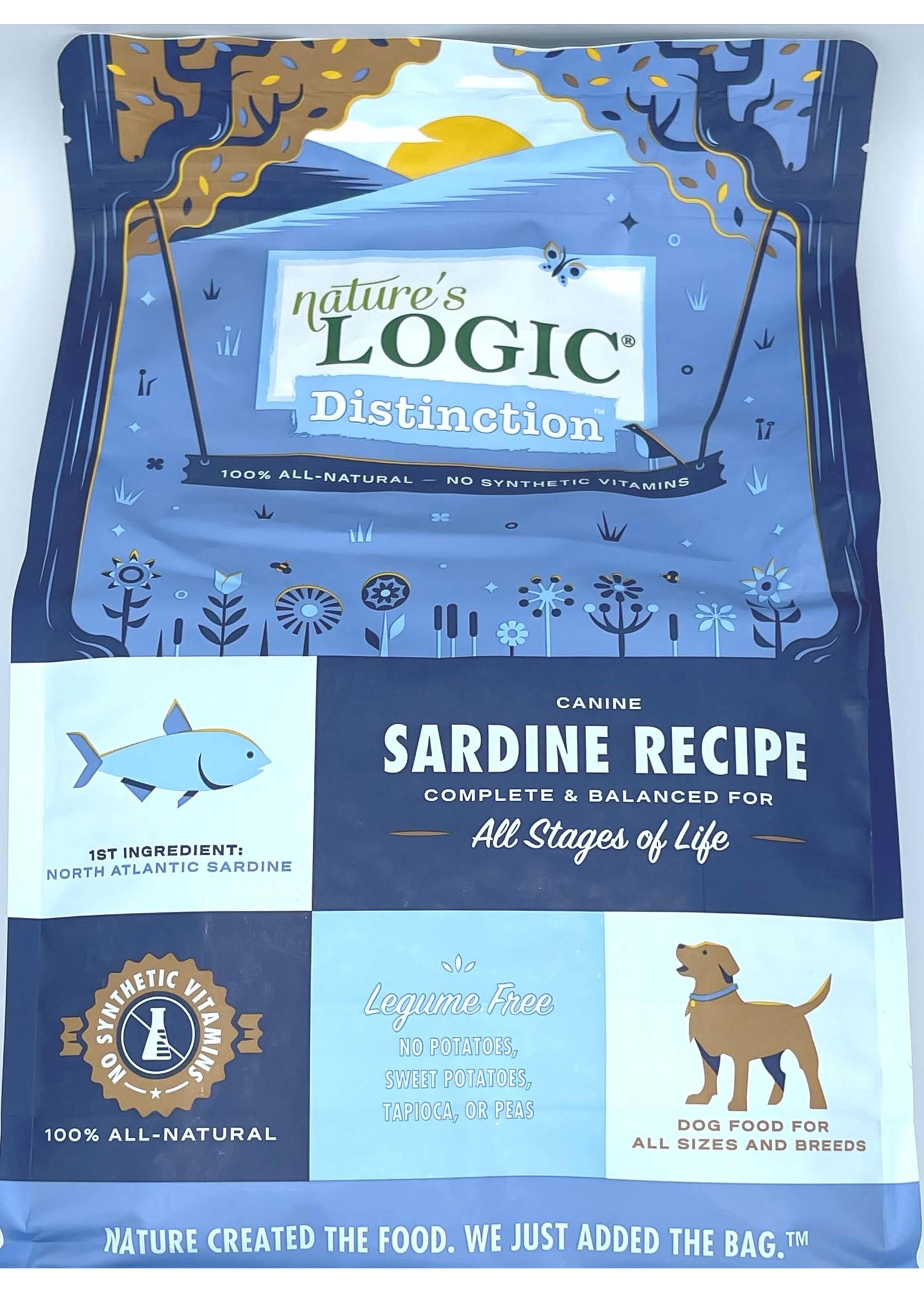 Nature's Logic Nature's Logic Distinction Sardine Recipe Dog Food 4.4lb Bag