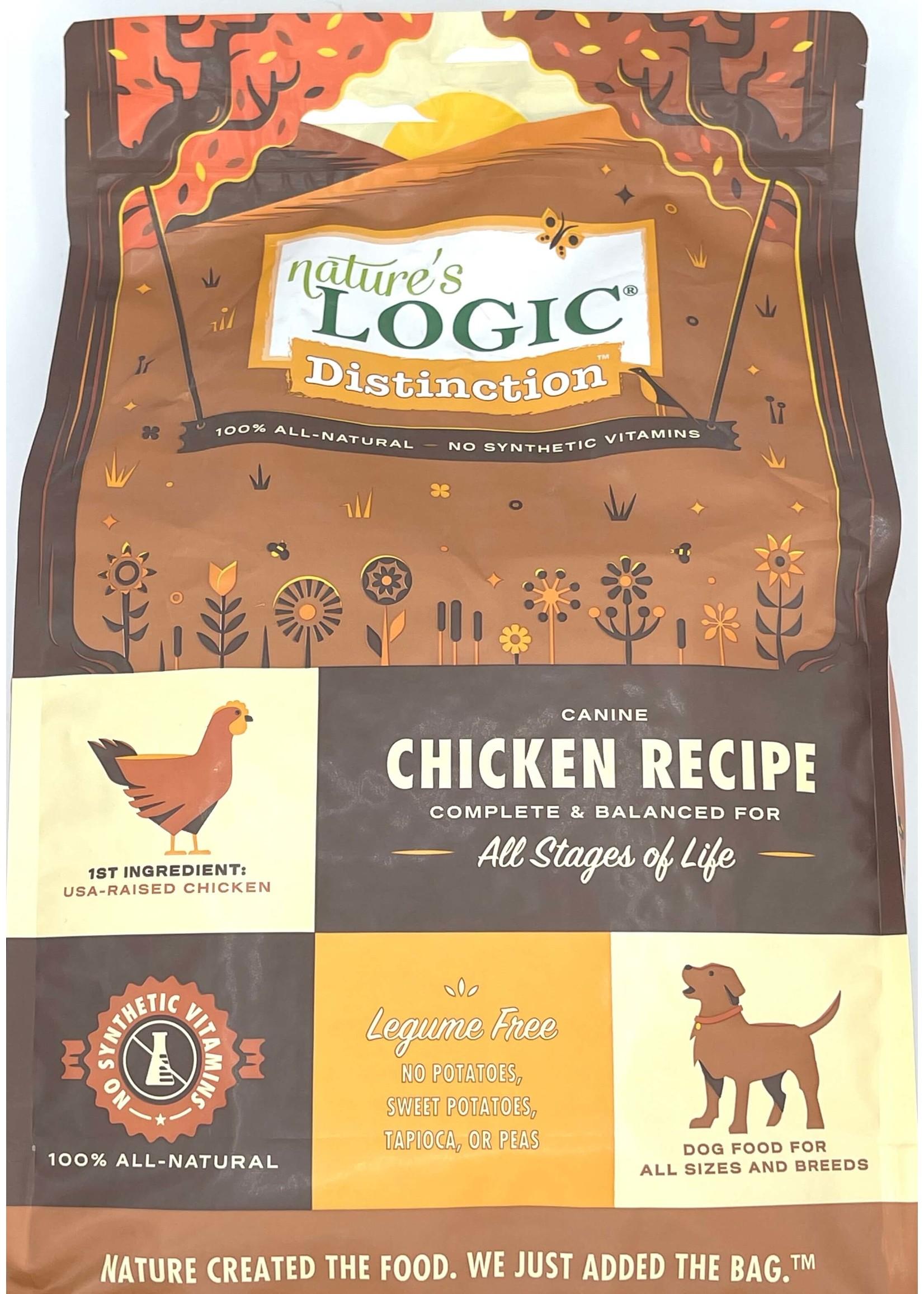 Nature's Logic Nature's Logic Distinction Chicken Recipe Dog Food 12lb Bag