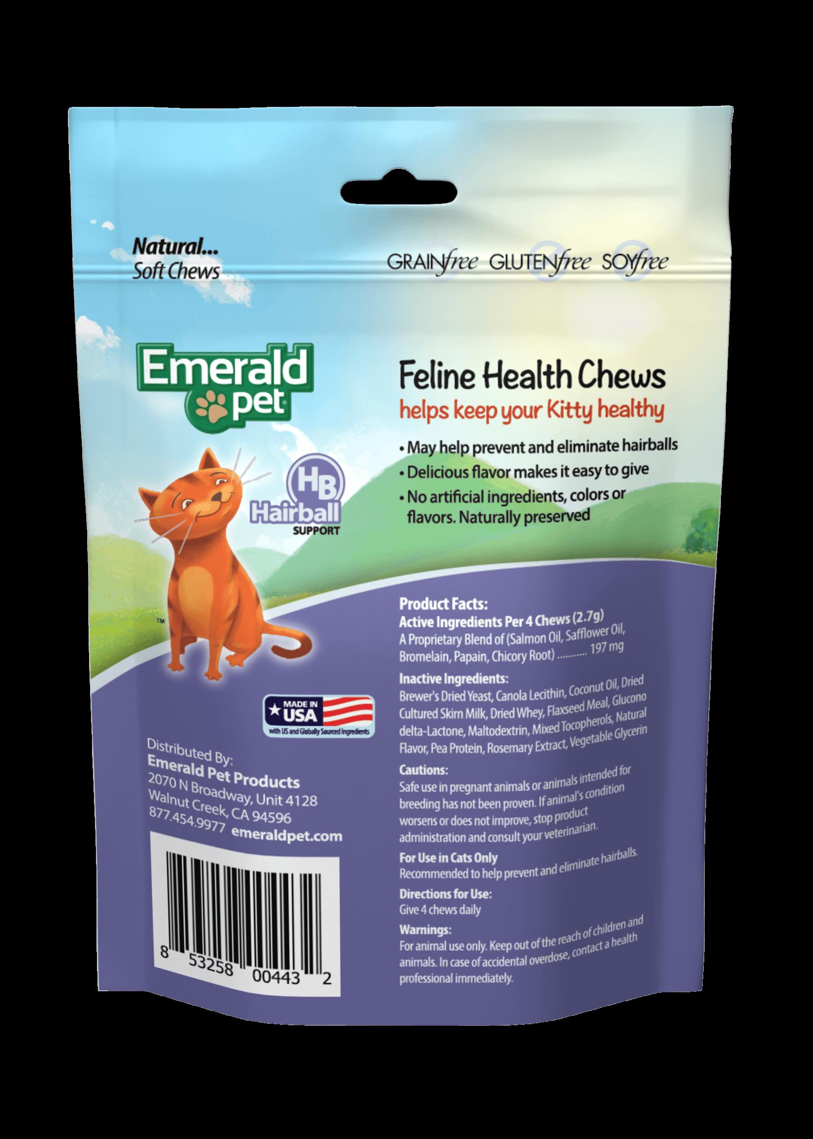 Emerald Pet Emerald Pet Hairball Formula Cat Chew 2.5 oz