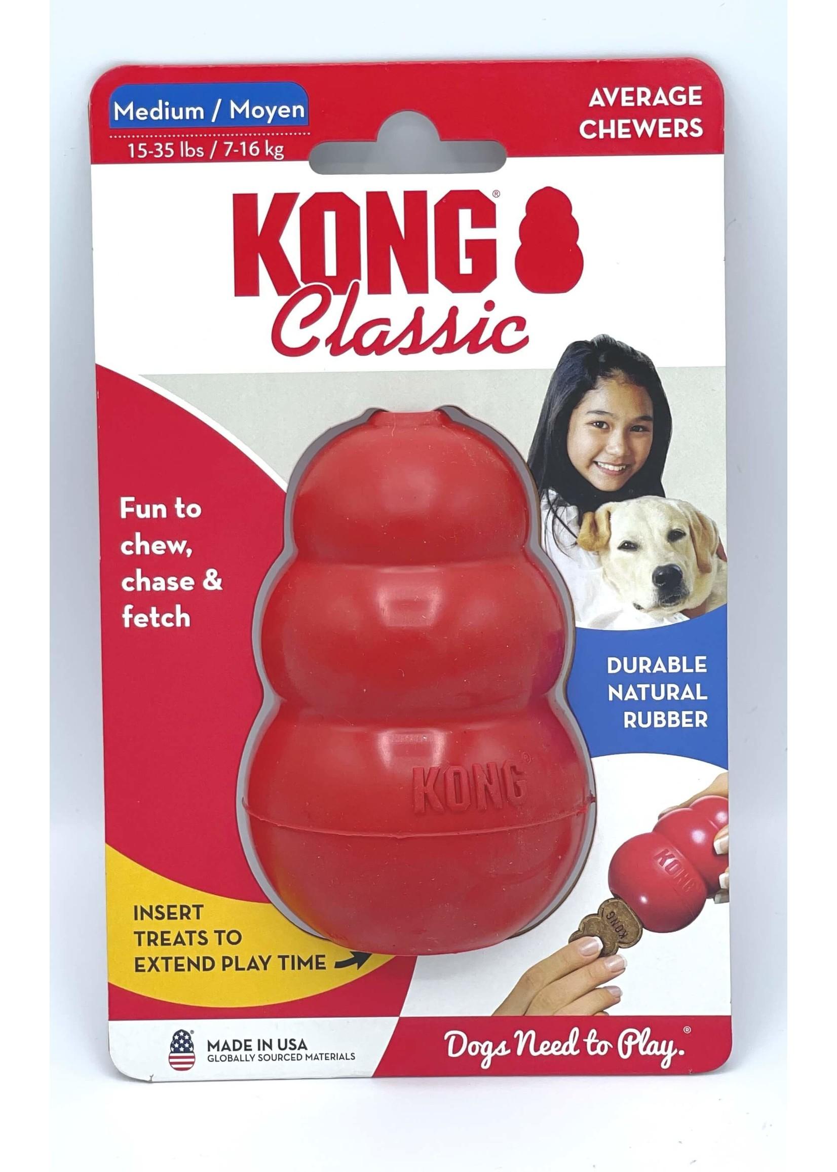 Kong Kong Classic Dog Toy Red Medium