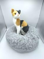 Luxury Plush Donut Pet Bed