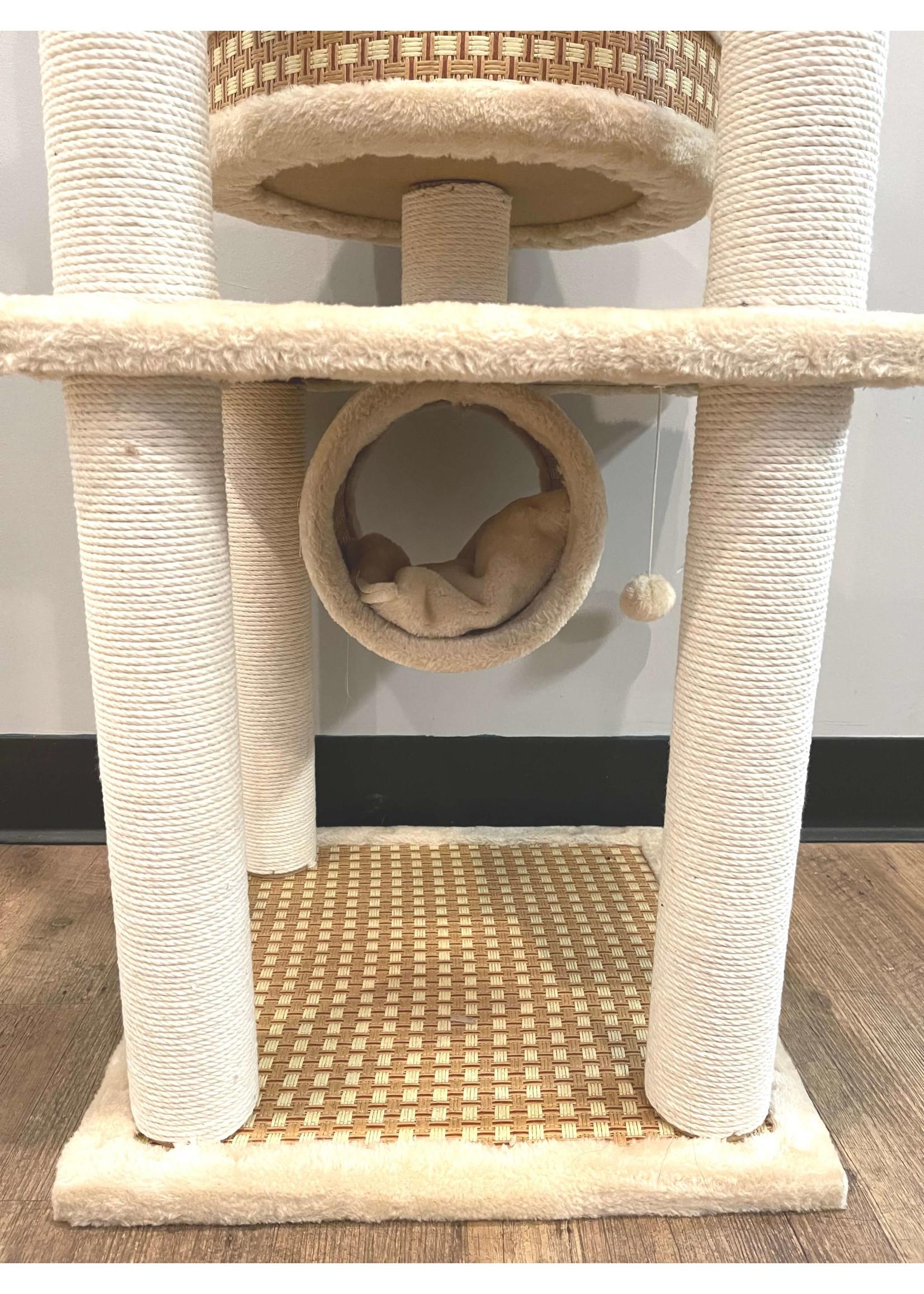 Plush & Sisal Cat Tree