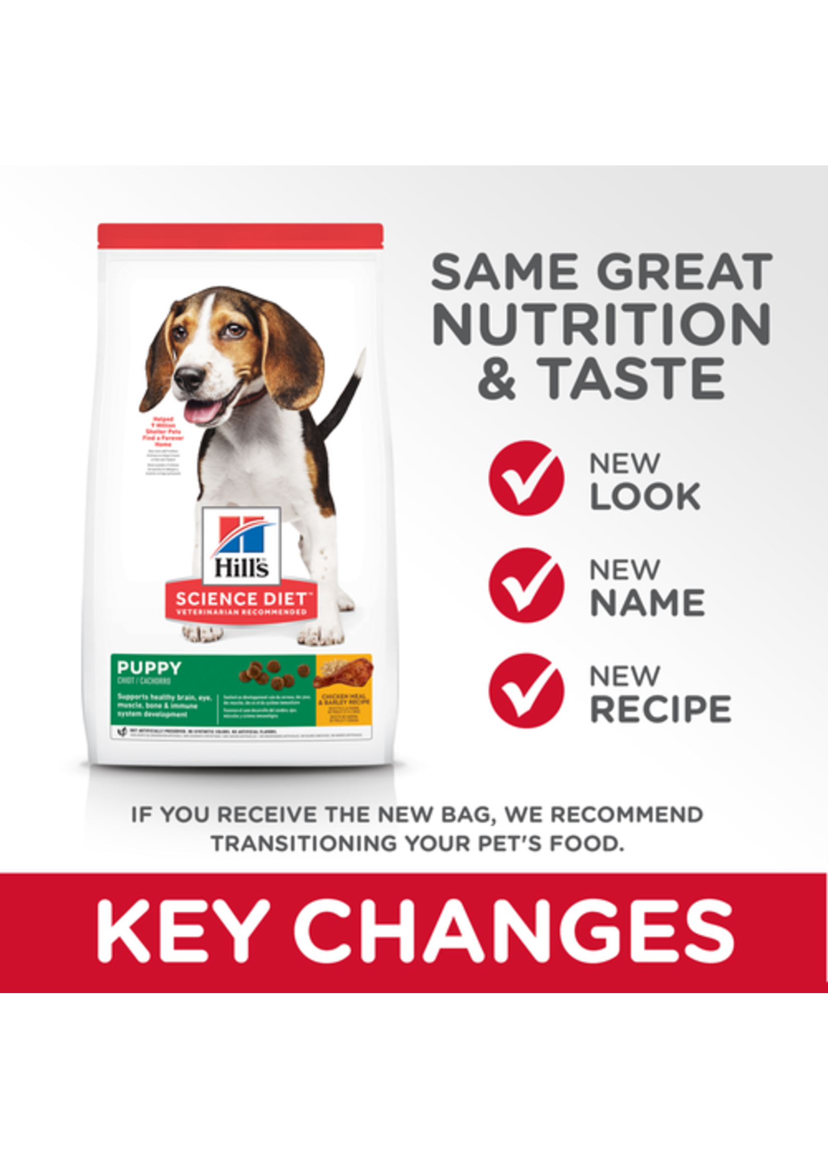 Hill's Science Diet Hill's Science Diet Puppy Chicken Meal & Barley Recipe 15.5lb Bag