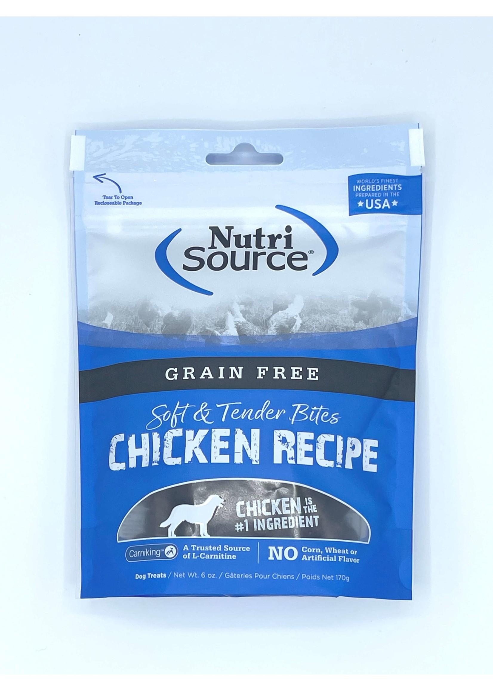 NutriSource NutriSource Grain Free Dog Treat Bites