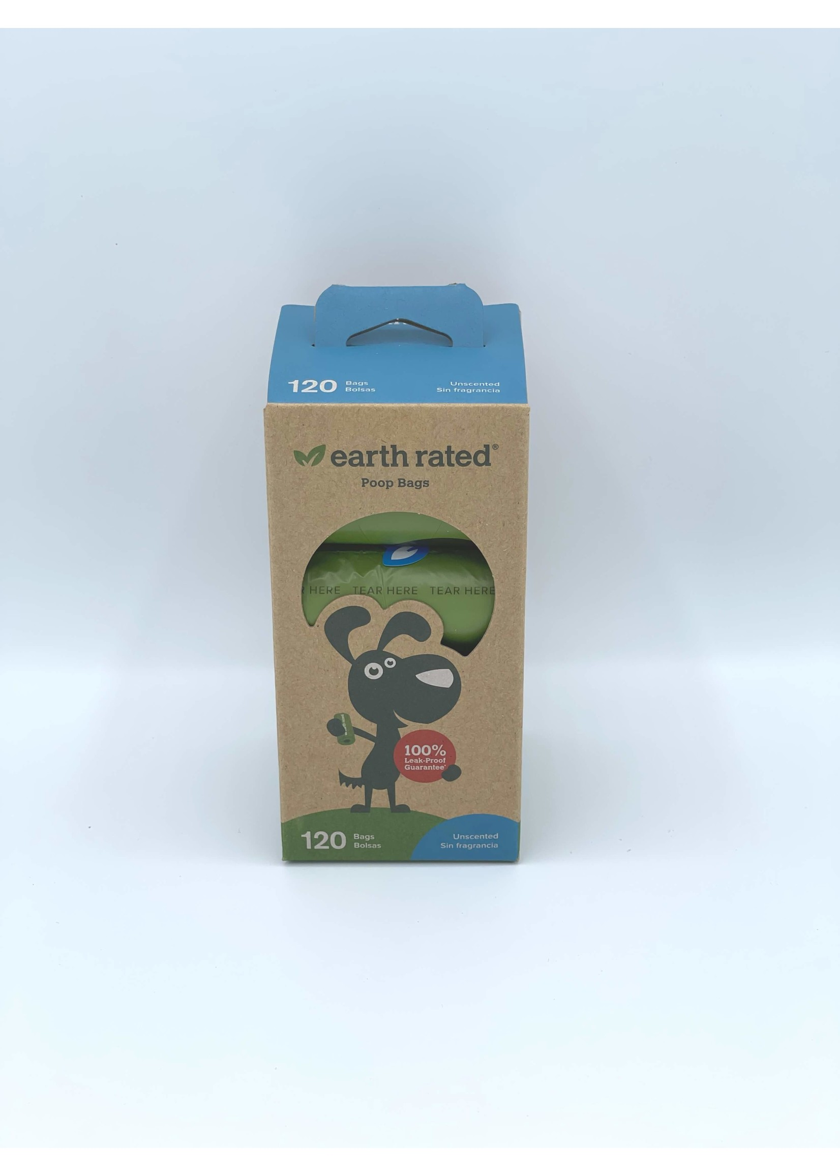 Earth Rated Earth Rated Unscented Poop Bag Rolls, 8 Count