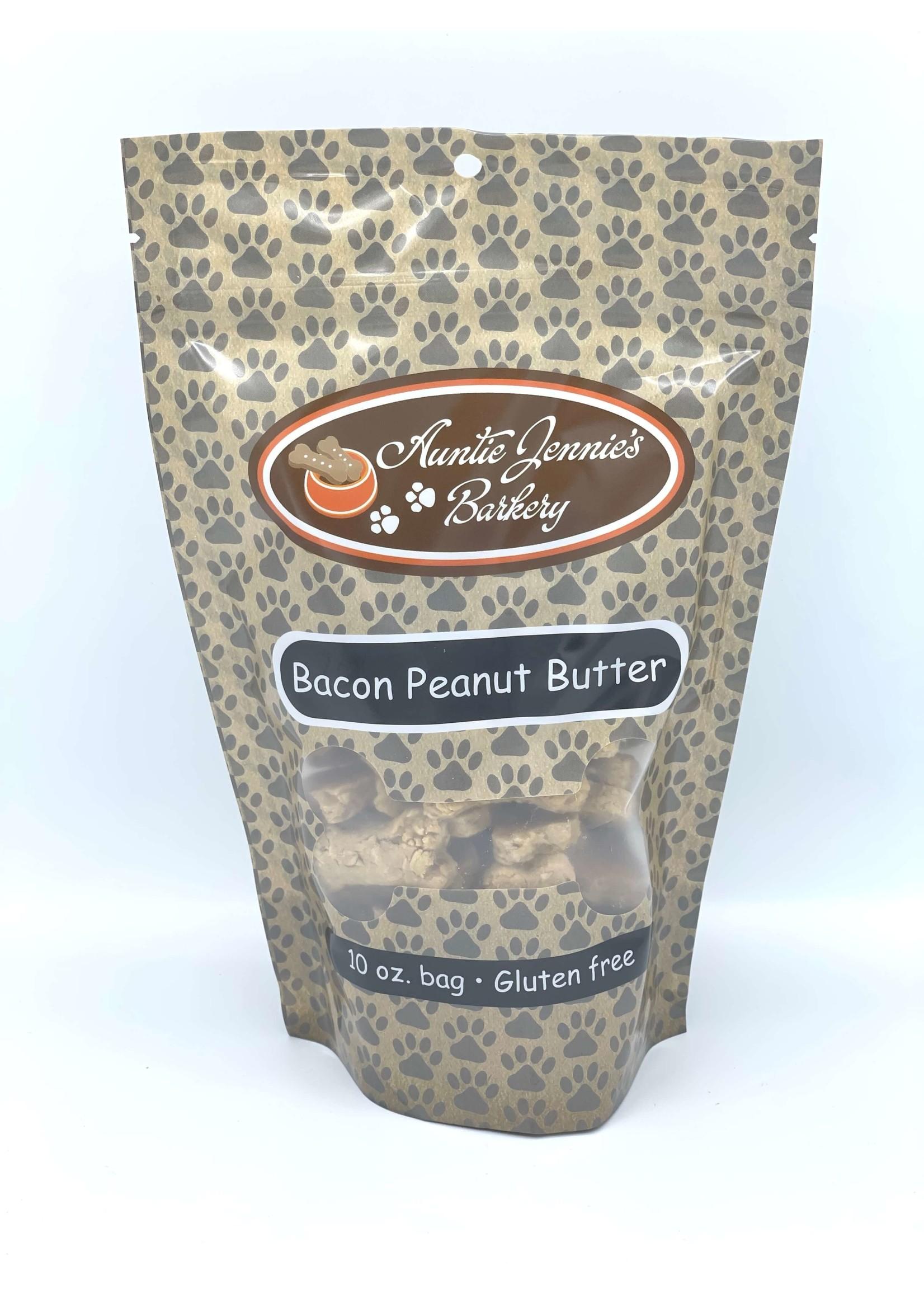 Aunt Jennie's Barkery Bacon Peanut Butter Flavor