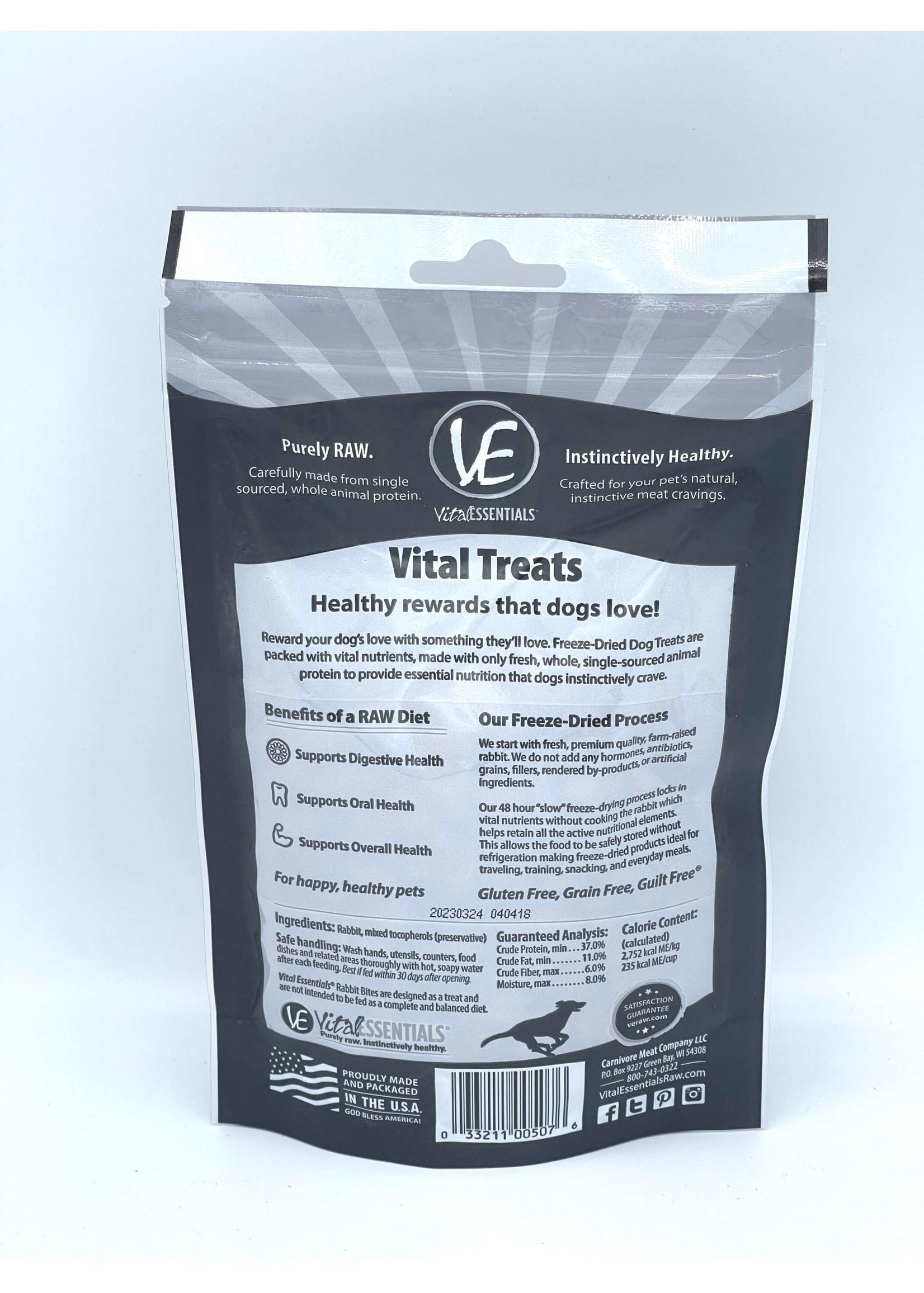 Vital Essentials Vital Essentials Freeze Dried Rabbit Bites