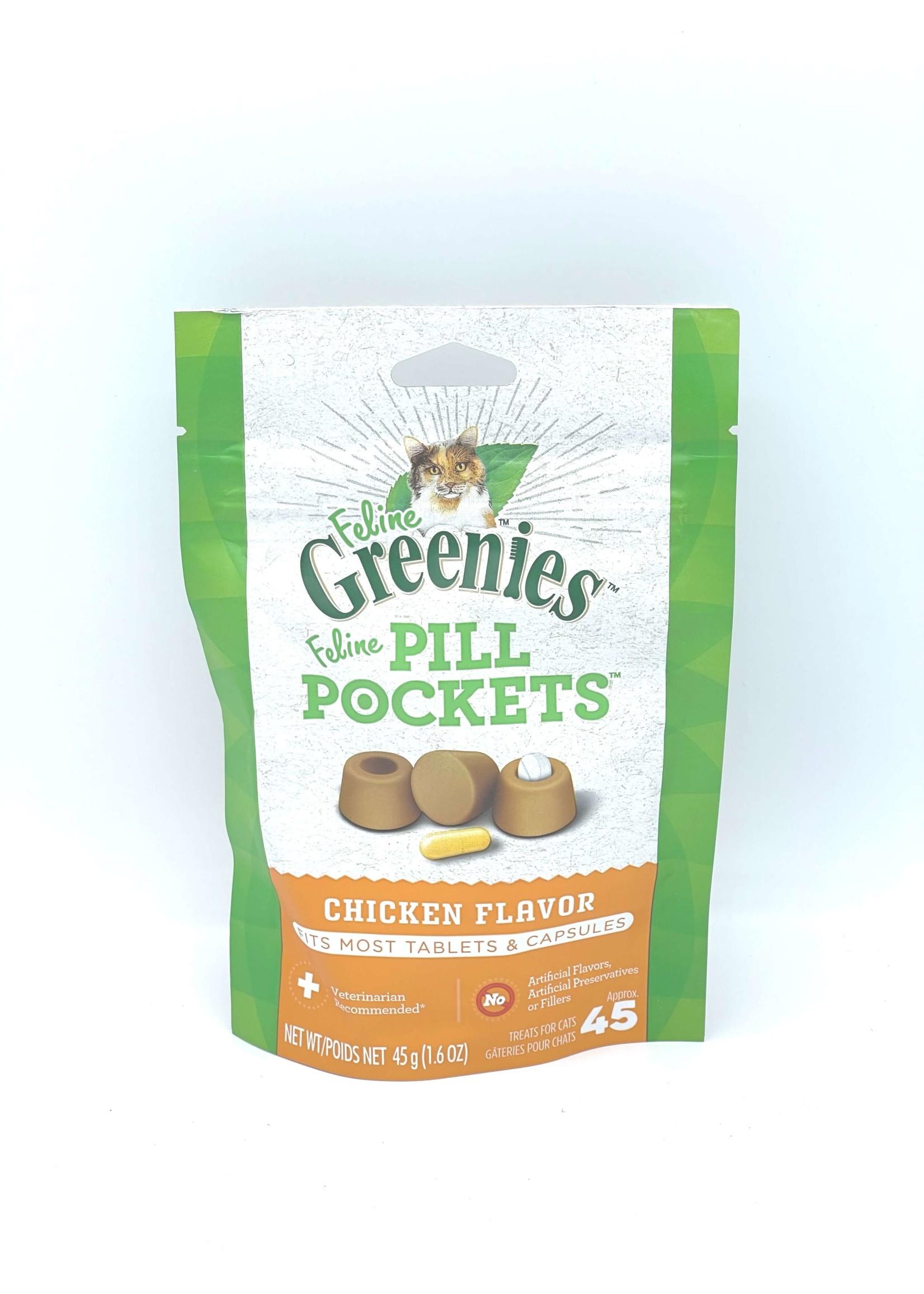 Greenies Feline Greenies Pill Pockets, Chicken Flavor