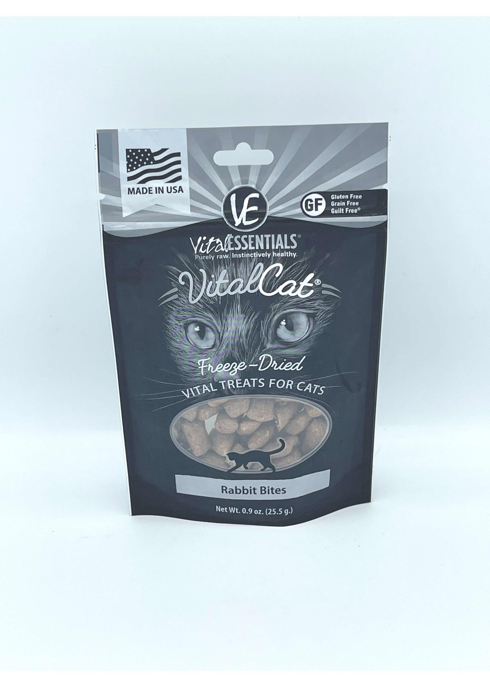 Vital Essentials Vital Essentials Freeze-Dried Cat Treats Rabbit Bites