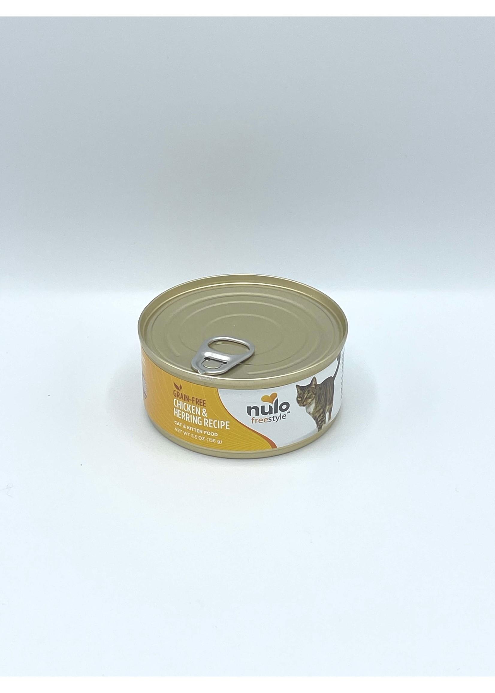Nulo Nulo FreeStyle Grain Free Cat Chicken & Herring