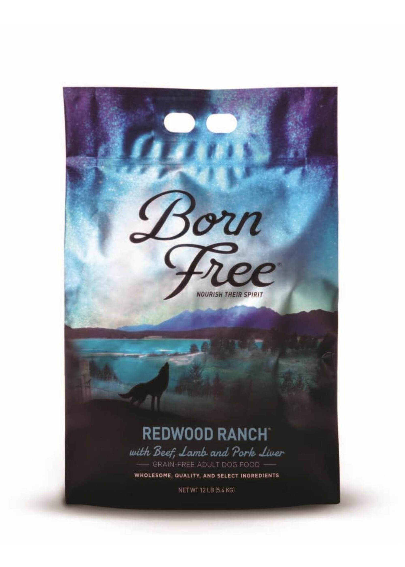 Born Free Born Free Dog Food Redwood Ranch