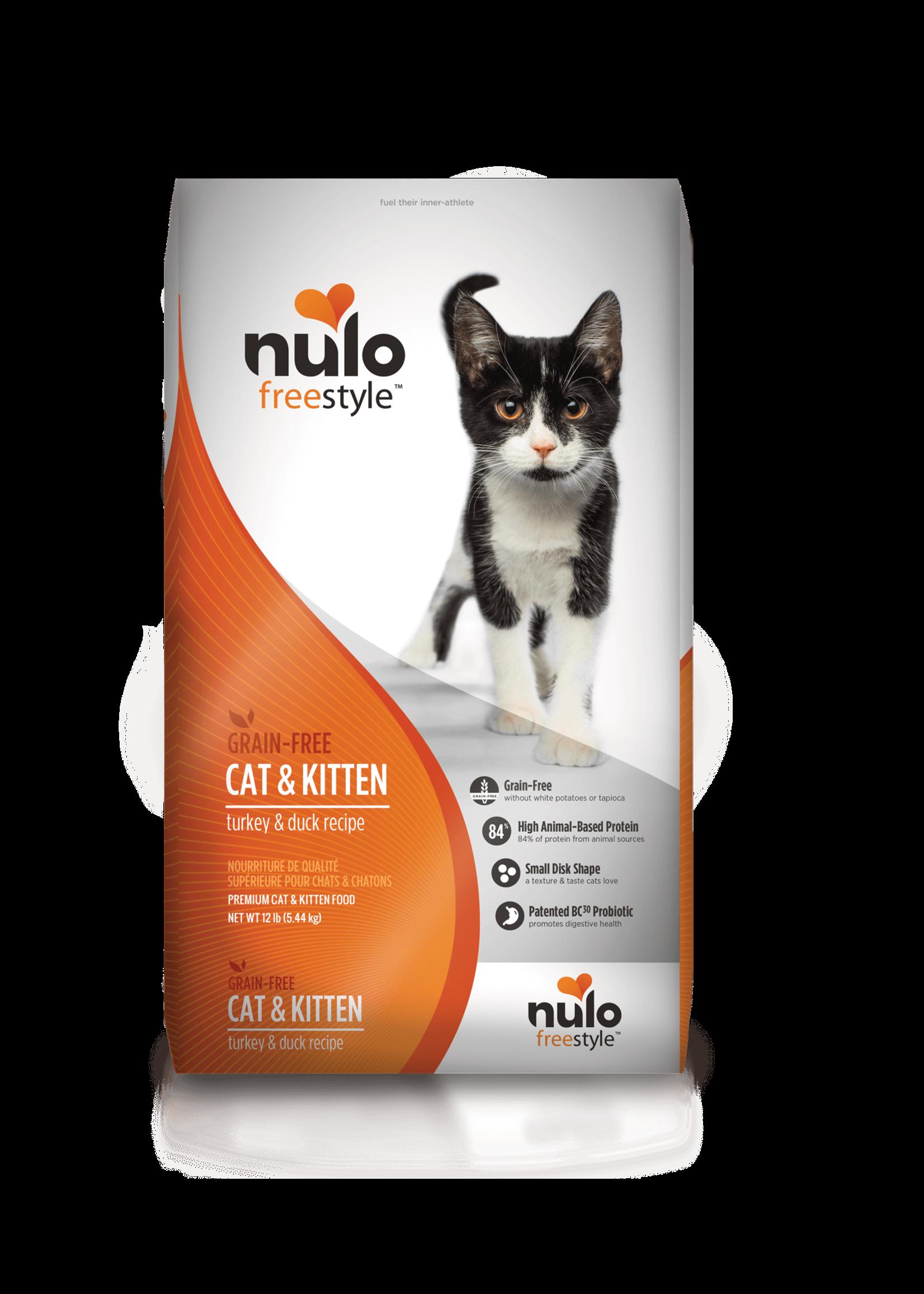 Nulo Nulo FreeStyle Cat & Kitten Food Turkey & Duck