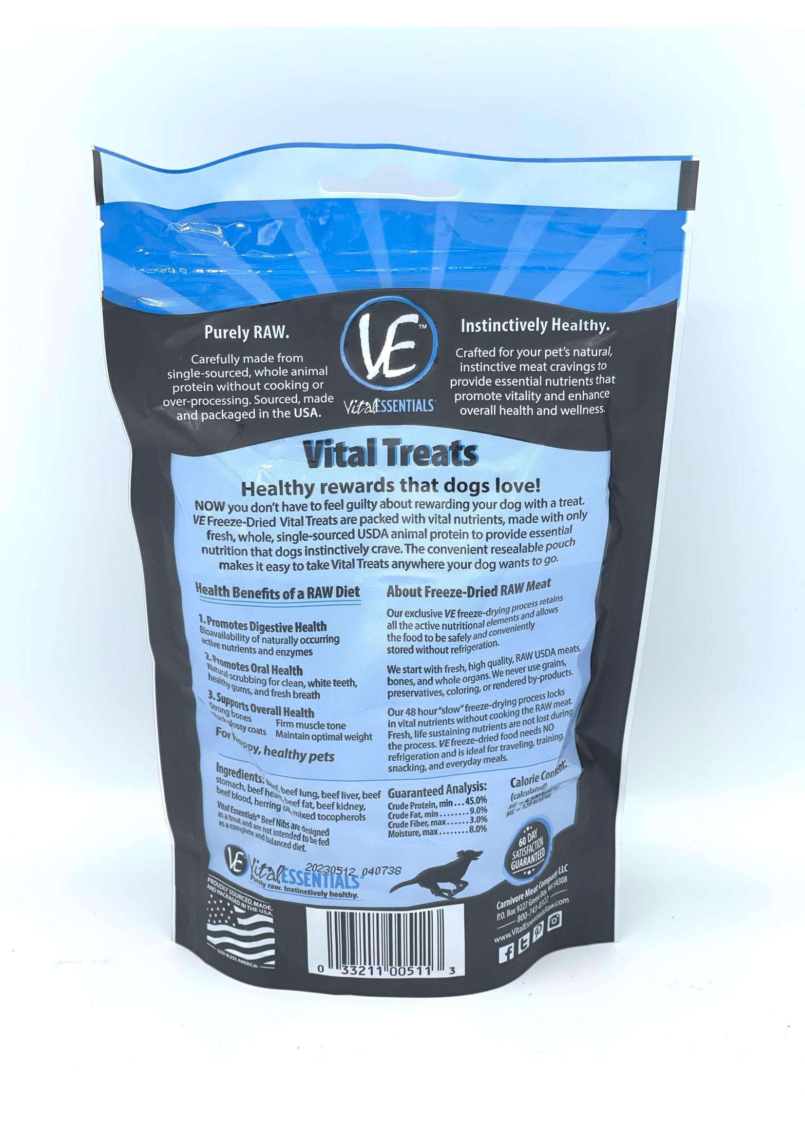 Vital Essentials Vital Essentials Freeze-Dried Beef Nibs
