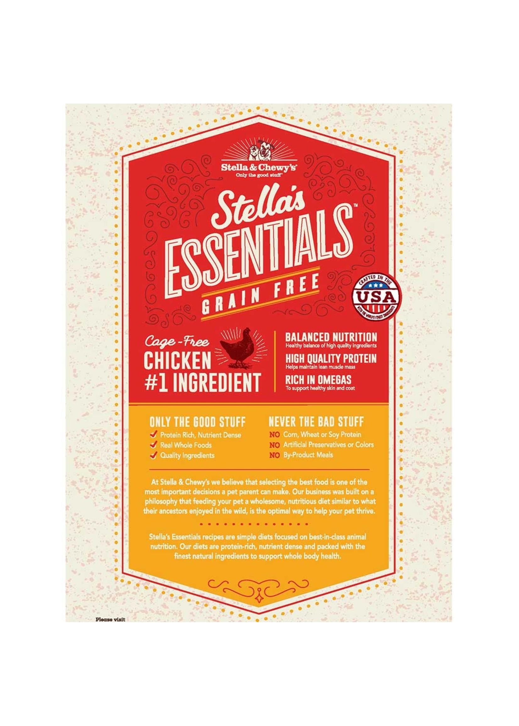 Stella & Chewy's Stella's Essentials Grain-Free Wide Open Praire Chicken Recipe