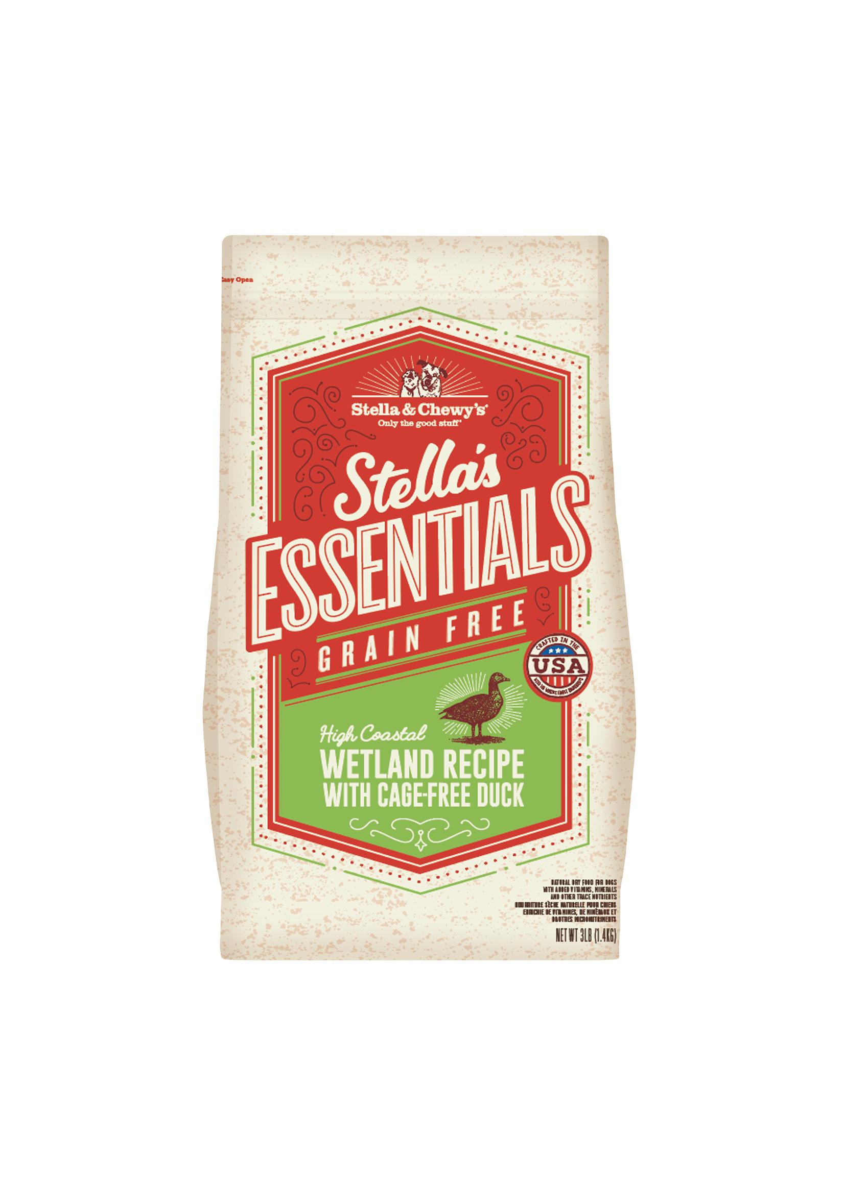 Stella & Chewy's Stella's Essentials Grain-Free Coastal Wetland Duck Recipe