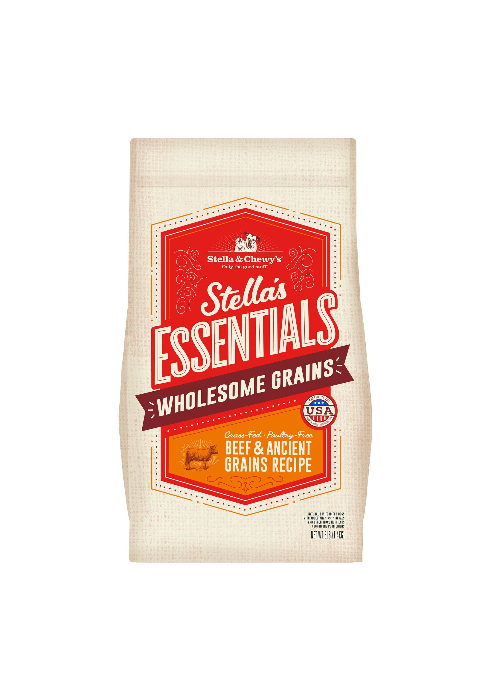 Stella & Chewy's Stella's Essentials Beef & Ancient Grains