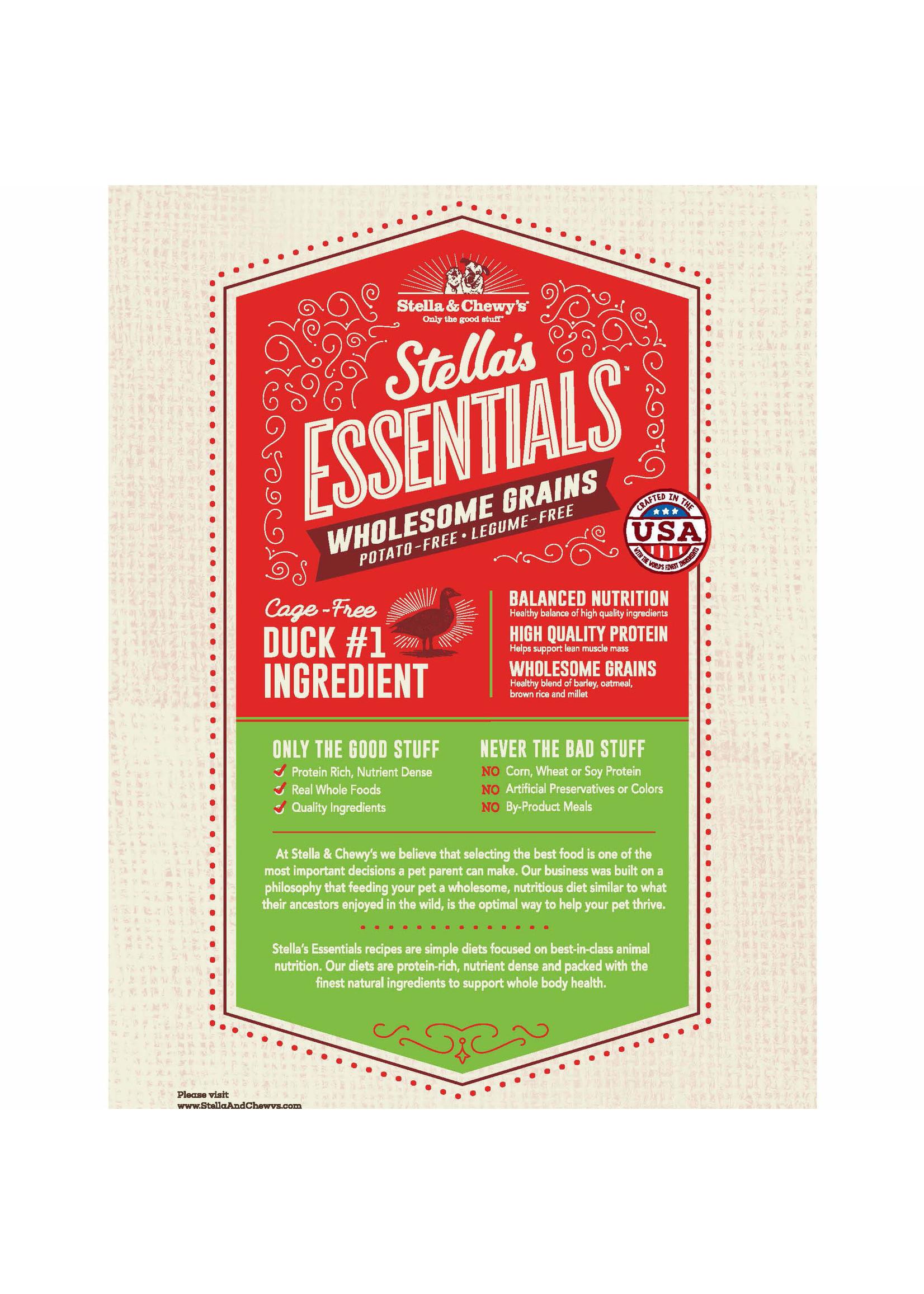Stella & Chewy's Stella's Essentials Duck & Ancient Grains