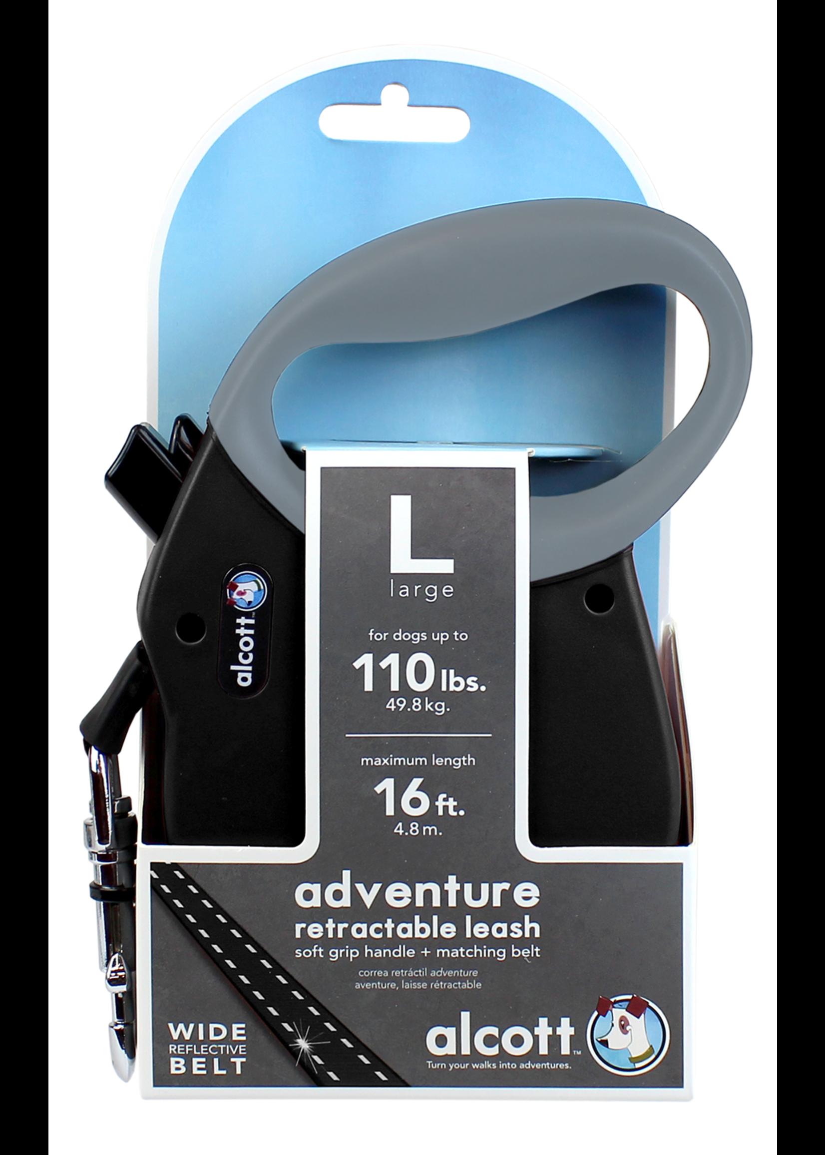 Alcott Alcott Adventure Retractable Leash Black