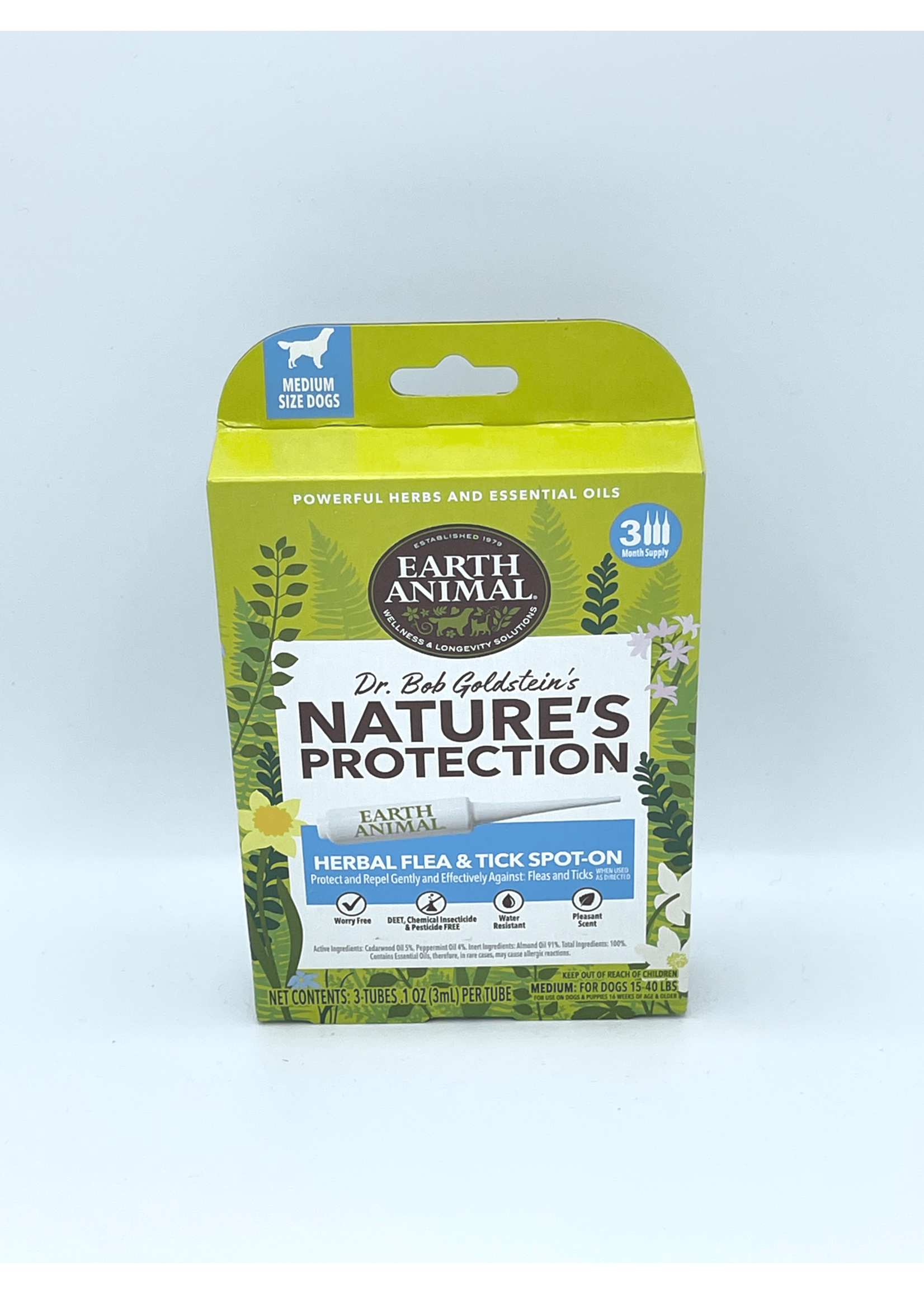 Earth Animal Earth Animal Dog Nature's Protection Spot Flea & Tick