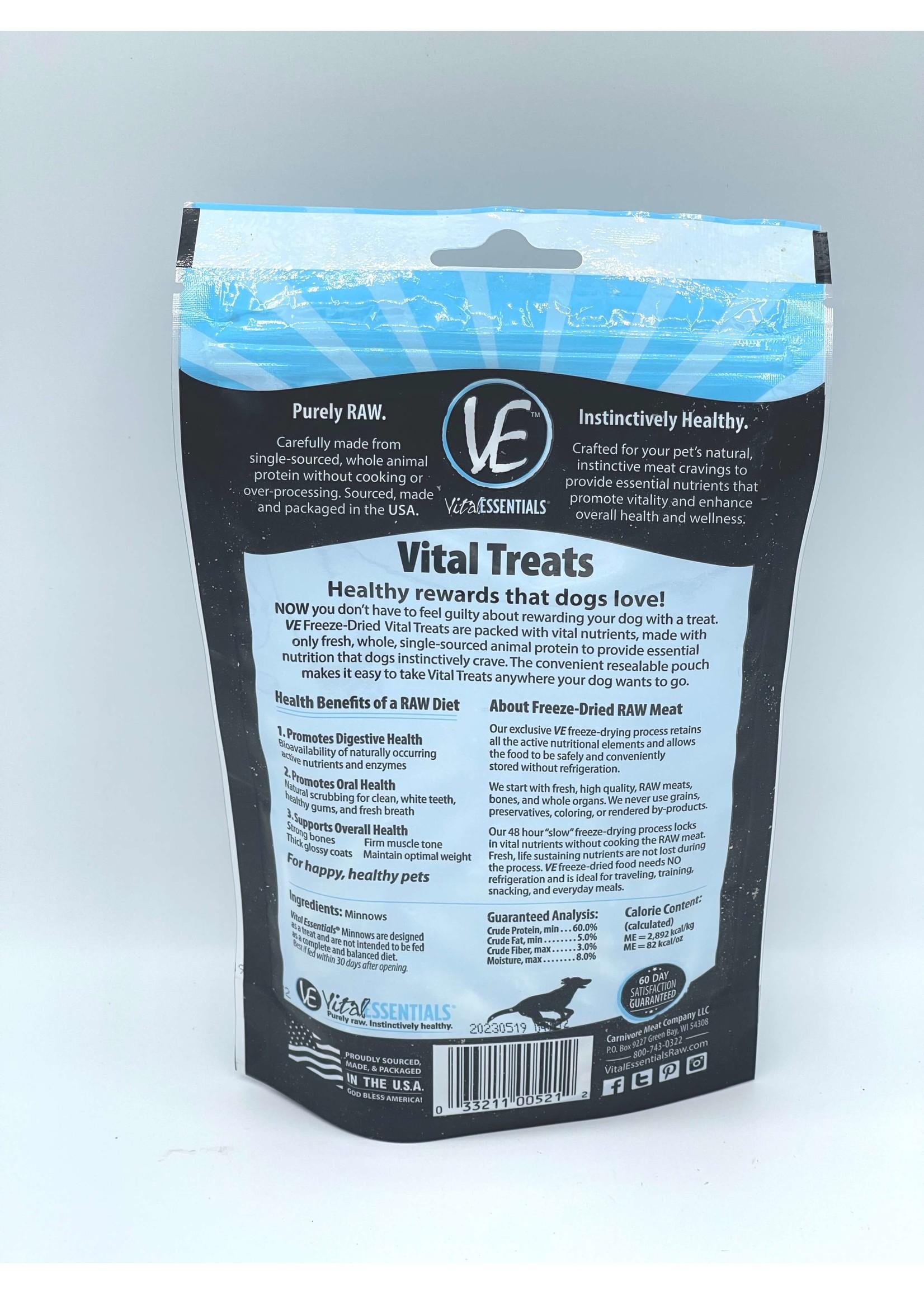 Vital Essentials Vital Essentials Freeze-Dried Dog Minnows