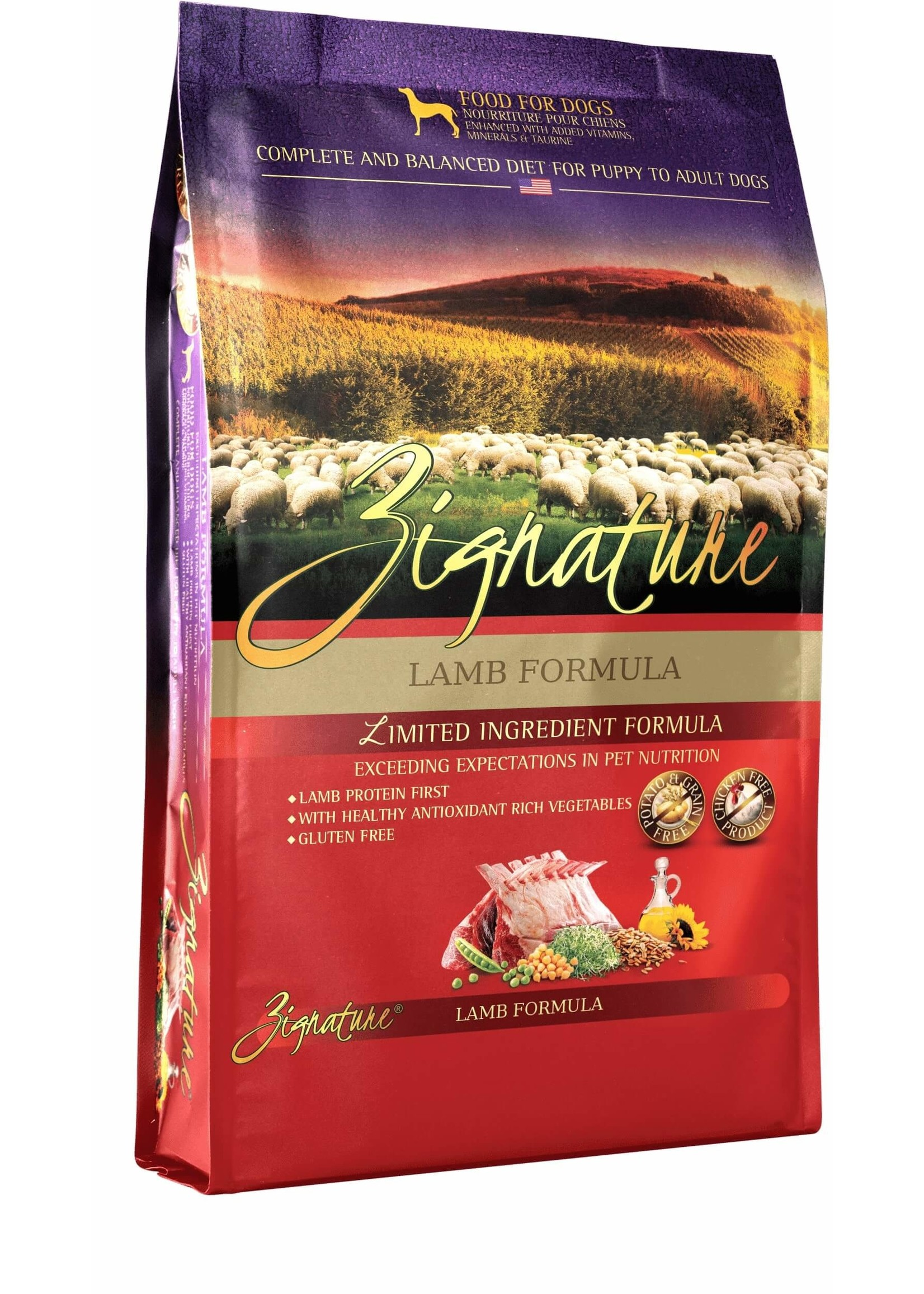 Zignature Zignature Limited Ingredient Formula Dog Food Lamb