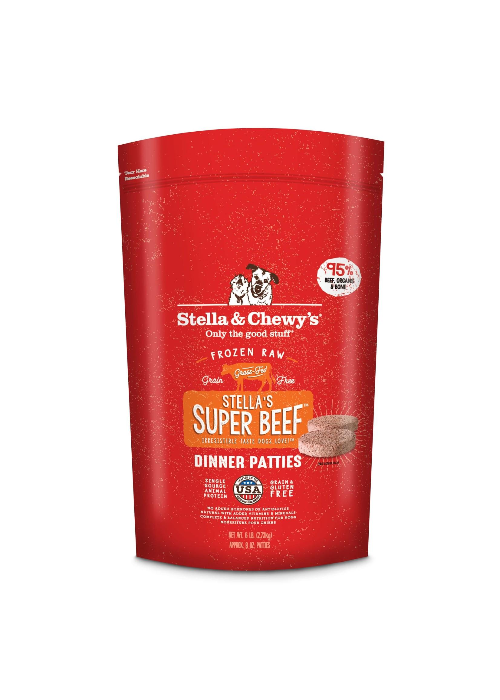 Stella & Chewy's Stella & Chewy's 6lb Super Beef Frozen Dinner Patties