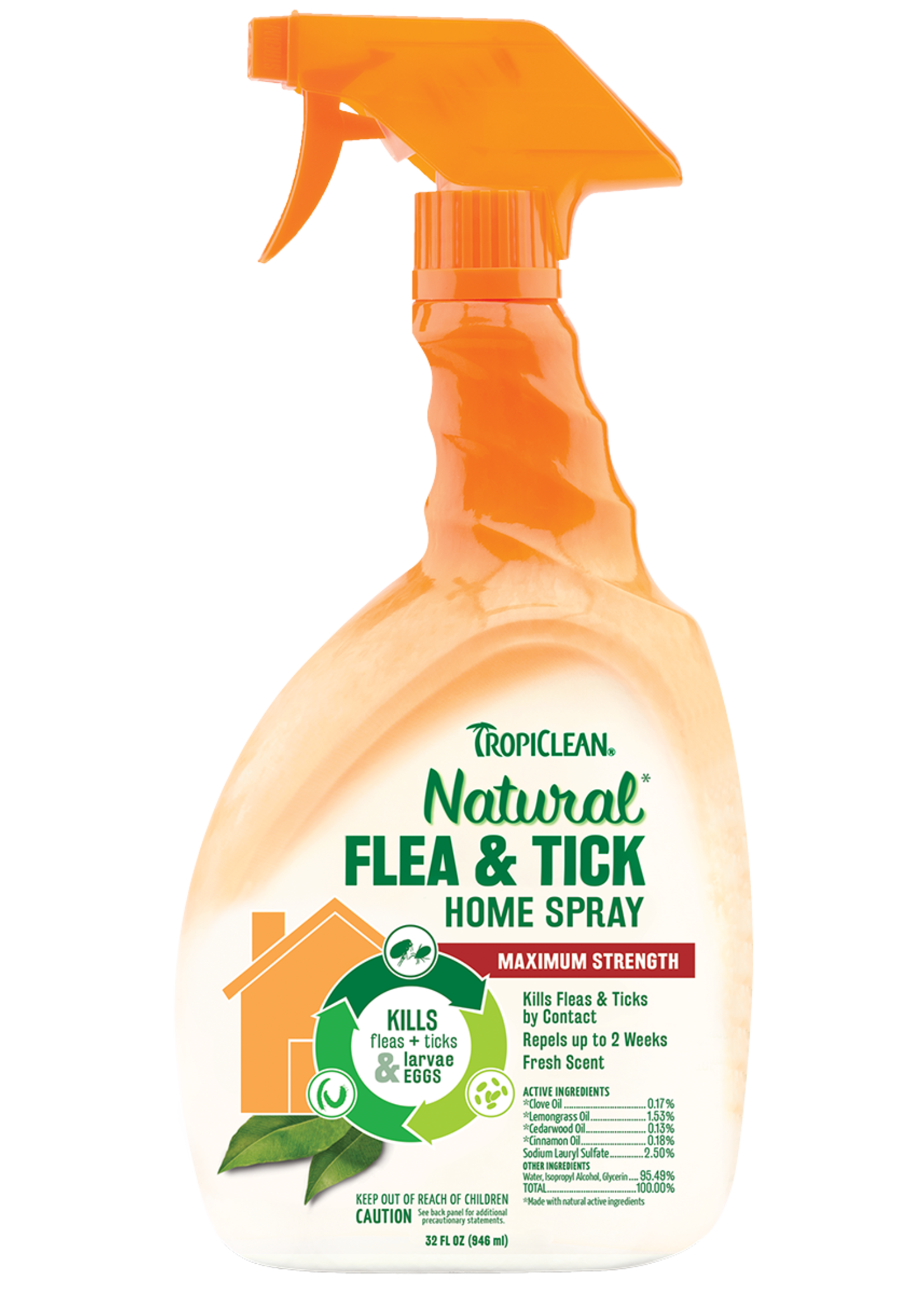 TropiClean TropiClean Dog Flea and Tick Home Spray